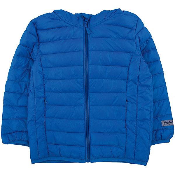 Куртка для мальчика PlayTodayВерхняя одежда<br>Куртка для мальчика от известного бренда PlayToday.<br>Уютная теплая куртка с капюшоном. Застегивается на молнию с внутренней ветрозащитной планкой и защитой подбородка. Украшена стильным принтом с микросхемами. Рукава и низ на резинке, капюшон утягивается стопперами.<br>Состав:<br>Верх: 100% нейлон, подкладка: 100% нейлон, наполнитель: 100% полиэстер, 150 г<br>Ширина мм: 356; Глубина мм: 10; Высота мм: 245; Вес г: 519; Цвет: синий; Возраст от месяцев: 36; Возраст до месяцев: 48; Пол: Мужской; Возраст: Детский; Размер: 104,98,110,116,128,122; SKU: 4896724;