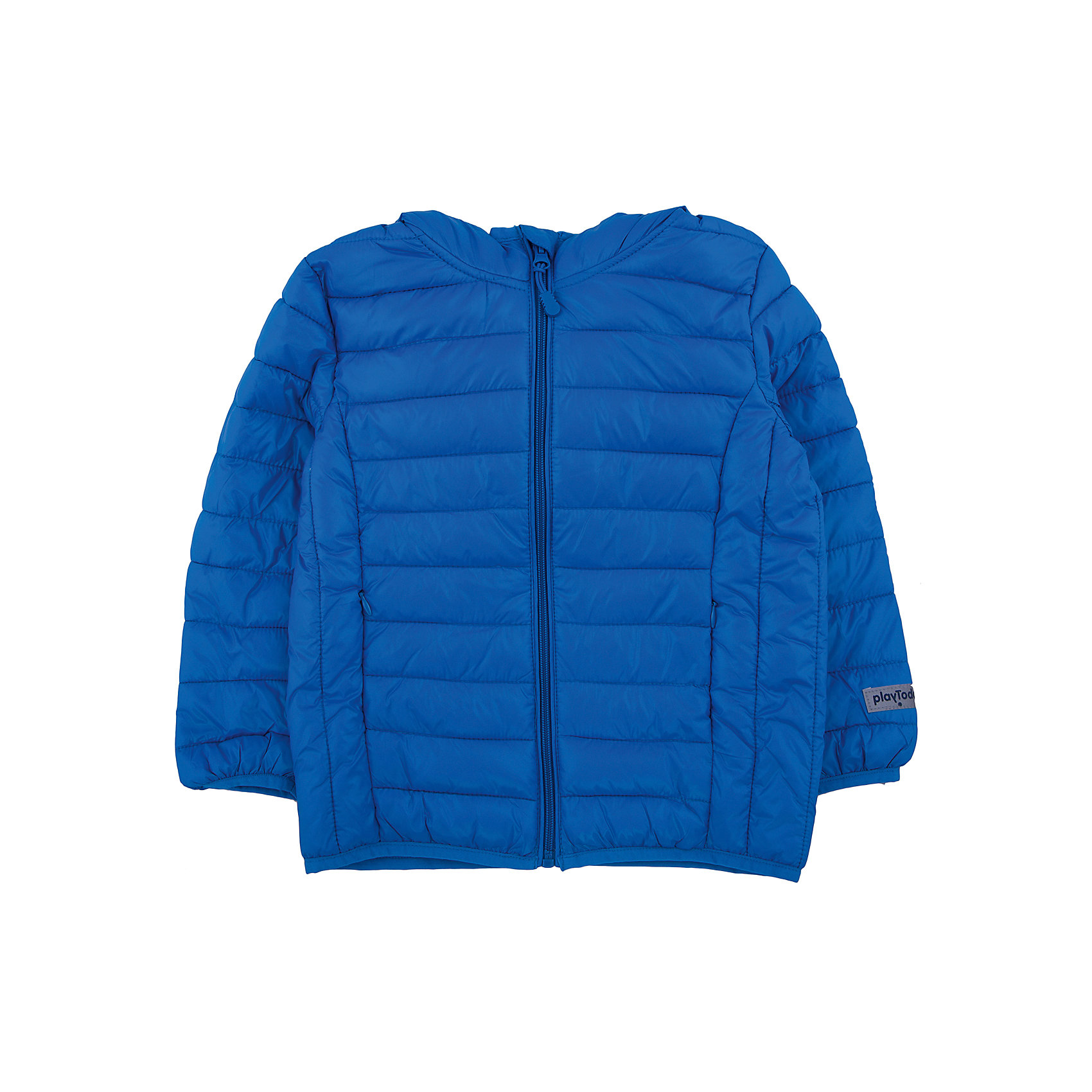 Куртка для мальчика PlayTodayВерхняя одежда<br>Куртка для мальчика от известного бренда PlayToday.<br>Уютная теплая куртка с капюшоном. Застегивается на молнию с внутренней ветрозащитной планкой и защитой подбородка. Украшена стильным принтом с микросхемами. Рукава и низ на резинке, капюшон утягивается стопперами.<br>Состав:<br>Верх: 100% нейлон, подкладка: 100% нейлон, наполнитель: 100% полиэстер, 150 г<br><br>Ширина мм: 356<br>Глубина мм: 10<br>Высота мм: 245<br>Вес г: 519<br>Цвет: синий<br>Возраст от месяцев: 72<br>Возраст до месяцев: 84<br>Пол: Мужской<br>Возраст: Детский<br>Размер: 122,104,128,116,110,98<br>SKU: 4896724