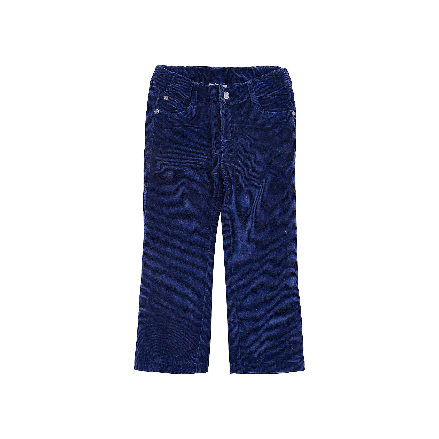 Брюки для мальчика PlayTodayБрюки<br>Брюки для мальчика от известного бренда PlayToday.<br>Уютные вельветовые брюки темно-синего цвета. Классическая пятикарманка. Застегиваются на молнию и кнопку, пояс на резинке. Внутри мягкая хлопковая подкладка.<br>Состав:<br>Верх: 98% хлопок, 2% эластан, подкладка: 50% хлопок, 50% полиэстер<br><br>Ширина мм: 215<br>Глубина мм: 88<br>Высота мм: 191<br>Вес г: 336<br>Цвет: синий<br>Возраст от месяцев: 36<br>Возраст до месяцев: 48<br>Пол: Мужской<br>Возраст: Детский<br>Размер: 104,122,98,116,110,128<br>SKU: 4896759