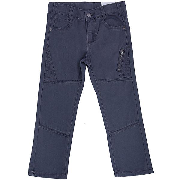 Брюки для мальчика PlayTodayБрюки<br>Брюки для мальчика от известного бренда PlayToday.<br>Стильные твиловые брюки графитового цвета. Классическая пятикарманка. Застегиваются на молнию и пуговицу, есть шлевки для ремня. Украшены декоративным карманом на молнии.<br>Состав:<br>100% хлопок<br><br>Ширина мм: 215<br>Глубина мм: 88<br>Высота мм: 191<br>Вес г: 336<br>Цвет: серый<br>Возраст от месяцев: 24<br>Возраст до месяцев: 36<br>Пол: Мужской<br>Возраст: Детский<br>Размер: 110,98,122,104,128,116<br>SKU: 4896766