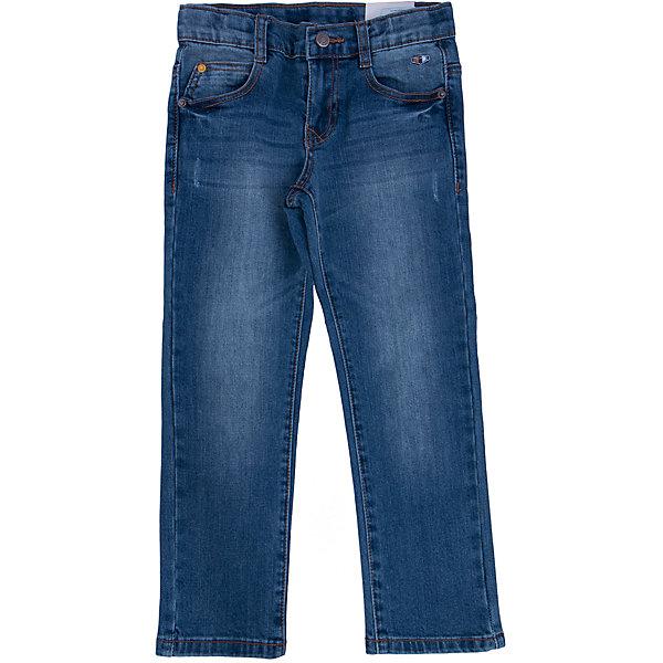 Джинсы для мальчика PlayTodayДжинсовая одежда<br>Джинсы для мальчика от известного бренда PlayToday.<br>Стильные хлопковые джинсы с модными потертостями. Классическая пятикарманка. Застегиваются на молнию и пуговицу, есть шлевки для ремня.<br>Состав:<br>70% хлопок, 20% полиэстер, 8% вискоза, 2% эластан<br><br>Ширина мм: 215<br>Глубина мм: 88<br>Высота мм: 191<br>Вес г: 336<br>Цвет: серый<br>Возраст от месяцев: 36<br>Возраст до месяцев: 48<br>Пол: Мужской<br>Возраст: Детский<br>Размер: 104,122,98,116,110,128<br>SKU: 4896773