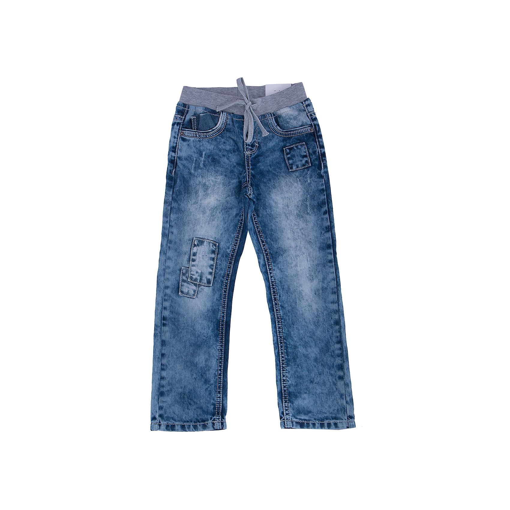 Джинсы для мальчика PlayTodayДжинсы для мальчика от известного бренда PlayToday.<br>Очень стильные вареные джинсы с зауженным силуэтом. Пояс на серой трикотажной резинке, дополнительно регулируется тесьмой. Классическая пятикарманка.<br>Состав:<br>100% хлопок<br><br>Ширина мм: 215<br>Глубина мм: 88<br>Высота мм: 191<br>Вес г: 336<br>Цвет: серый<br>Возраст от месяцев: 36<br>Возраст до месяцев: 48<br>Пол: Мужской<br>Возраст: Детский<br>Размер: 104,122,98,116,110,128<br>SKU: 4896780