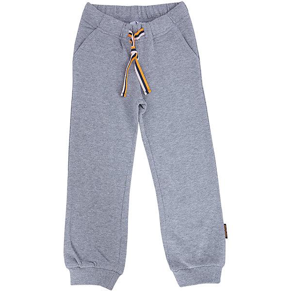 Брюки для мальчика PlayTodayБрюки<br>Брюки для мальчика от известного бренда PlayToday.<br>Уютные брюки из футера в спортивном стиле. Пояс на резинке, дополнительно регулируется яркой тесьмой. Есть 3 функциональных кармана. Низ штанишек на широкой трикотажной резинке.<br>Состав:<br>80% хлопок, 20% полиэстер<br><br>Ширина мм: 215<br>Глубина мм: 88<br>Высота мм: 191<br>Вес г: 336<br>Цвет: серый<br>Возраст от месяцев: 72<br>Возраст до месяцев: 84<br>Пол: Мужской<br>Возраст: Детский<br>Размер: 122,110,98,116,128,104<br>SKU: 4896787
