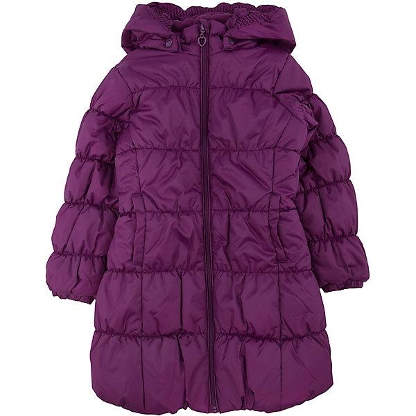 Куртка для девочки PlayTodayЗимние куртки<br>Куртка для девочки от известного бренда PlayToday.<br>Стильное утепленное пальто с эластичной стежкой. Застегивается на молнию с защитой подбородка и фигурным пуллером-сердечком. Капюшон на резинке удобно отстегивается. На воротнике мягкий флисовый манжет. Благодаря стежке достигается удобная посадка по фигуре ребенка и усиливаются теплозащитные свойства. По бокам два кармана.<br>Состав:<br>Верх: 100% полиэстер, Подкладка: 100% полиэстер, Наполнитель: 100% полиэстер, 250 г/м2<br><br>Ширина мм: 356<br>Глубина мм: 10<br>Высота мм: 245<br>Вес г: 519<br>Цвет: красный<br>Возраст от месяцев: 60<br>Возраст до месяцев: 72<br>Пол: Женский<br>Возраст: Детский<br>Размер: 116,128,104,122,98,110<br>SKU: 4896924