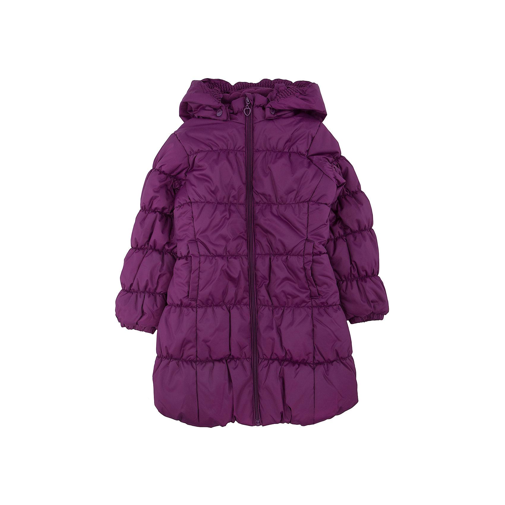 Куртка для девочки PlayTodayКуртка для девочки от известного бренда PlayToday.<br>Стильное утепленное пальто с эластичной стежкой. Застегивается на молнию с защитой подбородка и фигурным пуллером-сердечком. Капюшон на резинке удобно отстегивается. На воротнике мягкий флисовый манжет. Благодаря стежке достигается удобная посадка по фигуре ребенка и усиливаются теплозащитные свойства. По бокам два кармана.<br>Состав:<br>Верх: 100% полиэстер, Подкладка: 100% полиэстер, Наполнитель: 100% полиэстер, 250 г/м2<br><br>Ширина мм: 356<br>Глубина мм: 10<br>Высота мм: 245<br>Вес г: 519<br>Цвет: красный<br>Возраст от месяцев: 60<br>Возраст до месяцев: 72<br>Пол: Женский<br>Возраст: Детский<br>Размер: 116,110,98,122,104,128<br>SKU: 4896924