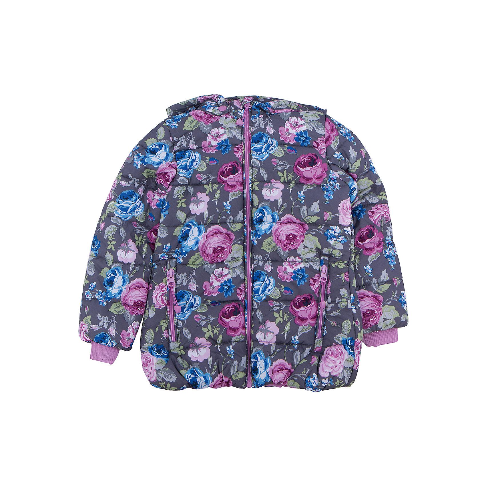 Куртка для девочки PlayTodayВерхняя одежда<br>Куртка для девочки от известного бренда PlayToday.<br>Стильная куртка с капюшоном и стежкой. Украшена нежным цветочным принтом. Застегивается на молнию с защитой подбородка и фигурным пуллером. Капюшон отстегивается и удобно утягивается стопперами. На воротнике и рукавах мягкие трикотажные манжеты. Благодаря внутренней резинке на поясе достигается максимально удобная посадка по фигуре ребенка и усиливаются теплозащитные свойства. По бокам два кармана на молнии.<br>Состав:<br>Верх: 100% полиэстер, Подкладка: 100% полиэстер, Наполнитель: 100% полиэстер, 250 г/м2<br><br>Ширина мм: 356<br>Глубина мм: 10<br>Высота мм: 245<br>Вес г: 519<br>Цвет: разноцветный<br>Возраст от месяцев: 36<br>Возраст до месяцев: 48<br>Пол: Женский<br>Возраст: Детский<br>Размер: 104,122,128,116,110,98<br>SKU: 4896931