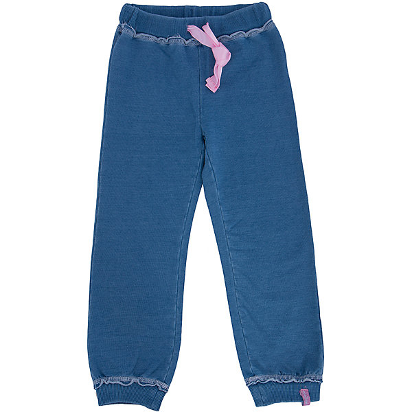 Брюки для девочки PlayTodayБрюки<br>Брюки для девочки от известного бренда PlayToday.<br>Стильные брюки из футера с имитацией денима. Низ и пояс на резинке, дополнительно регулируется лентой.<br>Состав:<br>95% хлопок, 5% эластан<br>Ширина мм: 215; Глубина мм: 88; Высота мм: 191; Вес г: 336; Цвет: синий; Возраст от месяцев: 48; Возраст до месяцев: 60; Пол: Женский; Возраст: Детский; Размер: 110,128,104,122,98,116; SKU: 4897040;