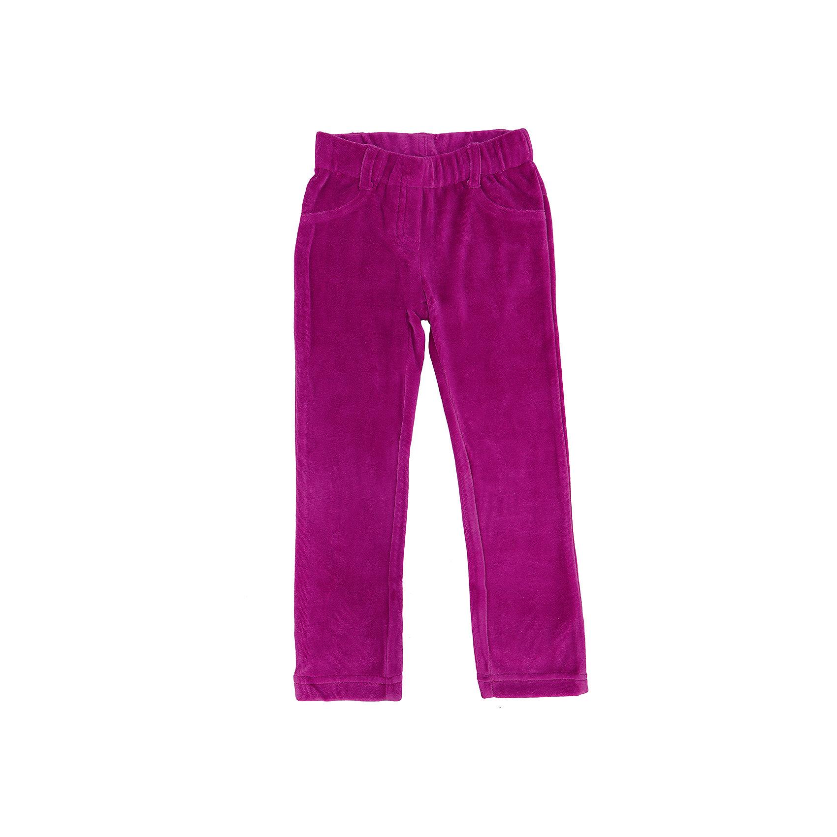 Брюки для девочки PlayTodayБрюки<br>Брюки для девочки от известного бренда PlayToday.<br>Уютные велюровые брюки яркого-розового цвета. Пояс на мягкой резинке, имитация застежки и карманов.<br>Состав:<br>75% хлопок, 25% полиэстер<br><br>Ширина мм: 215<br>Глубина мм: 88<br>Высота мм: 191<br>Вес г: 336<br>Цвет: розовый<br>Возраст от месяцев: 72<br>Возраст до месяцев: 84<br>Пол: Женский<br>Возраст: Детский<br>Размер: 104,128,110,116,98,122<br>SKU: 4897075