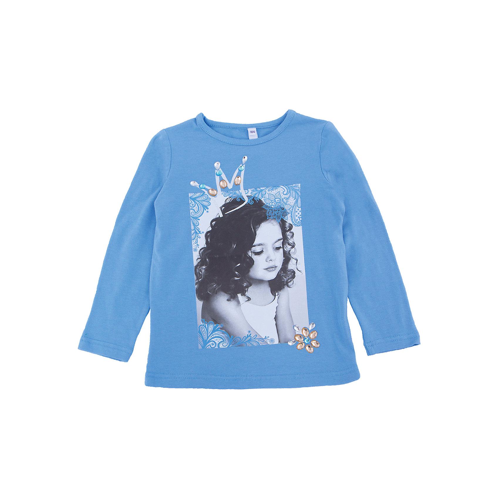 Футболка с длинным рукавом для девочки PlayTodayФутболка с длинным рукавом для девочки от известного бренда PlayToday.<br>Комплект из двух футболок - с короткими и длинными рукавами. Можно носить отдельно, а можно создать стильный образ, надев их вместе.<br>Состав:<br>95% хлопок, 5% эластан<br><br>Ширина мм: 199<br>Глубина мм: 10<br>Высота мм: 161<br>Вес г: 151<br>Цвет: голубой<br>Возраст от месяцев: 36<br>Возраст до месяцев: 48<br>Пол: Женский<br>Возраст: Детский<br>Размер: 104,122,98,116,110,128<br>SKU: 4897131
