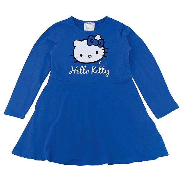 Платье для девочки PlayTodayHello Kitty<br>Платье для девочки от известного бренда PlayToday.<br>Яркое васильковое платье с длинными рукавами. Украшено лицензионным принтом Hello Kitty.<br>Состав:<br>95% хлопок, 5% эластан<br><br>Ширина мм: 236<br>Глубина мм: 16<br>Высота мм: 184<br>Вес г: 177<br>Цвет: синий<br>Возраст от месяцев: 84<br>Возраст до месяцев: 96<br>Пол: Женский<br>Возраст: Детский<br>Размер: 128,104,122,98,116,110<br>SKU: 4897166