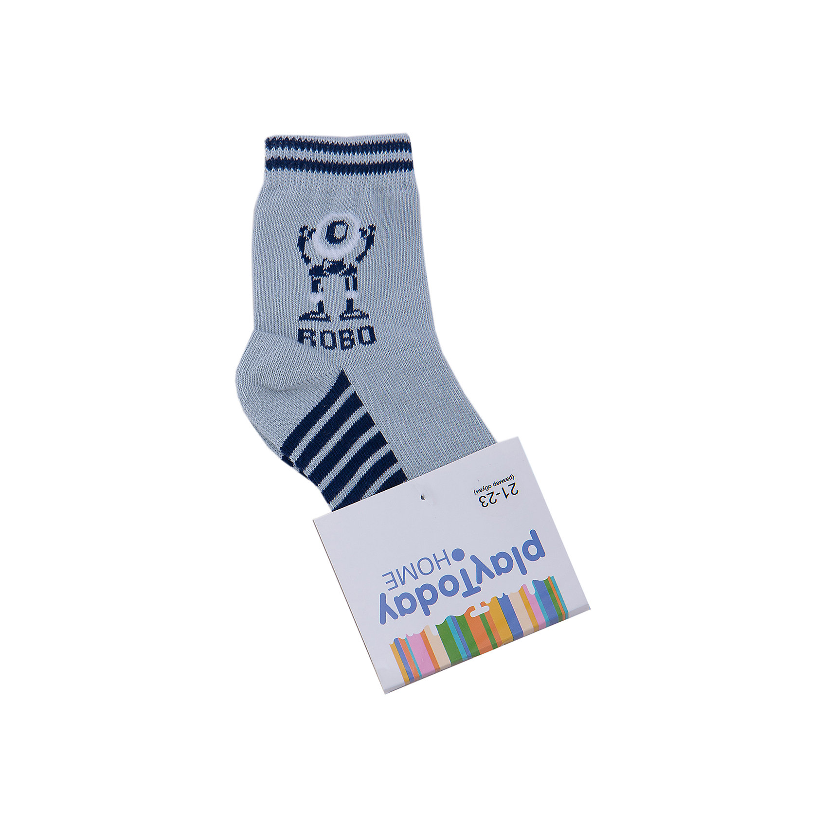 Носки для мальчика PlayTodayНоски для мальчика от известного бренда PlayToday.<br>Мягкие носочки на каждый день. Верх на резинке.<br>Состав:<br>75% хлопок, 22% нейлон, 3% эластан<br><br>Ширина мм: 87<br>Глубина мм: 10<br>Высота мм: 105<br>Вес г: 115<br>Цвет: разноцветный<br>Возраст от месяцев: 0<br>Возраст до месяцев: 3<br>Пол: Мужской<br>Возраст: Детский<br>Размер: 16,14,18<br>SKU: 4897300