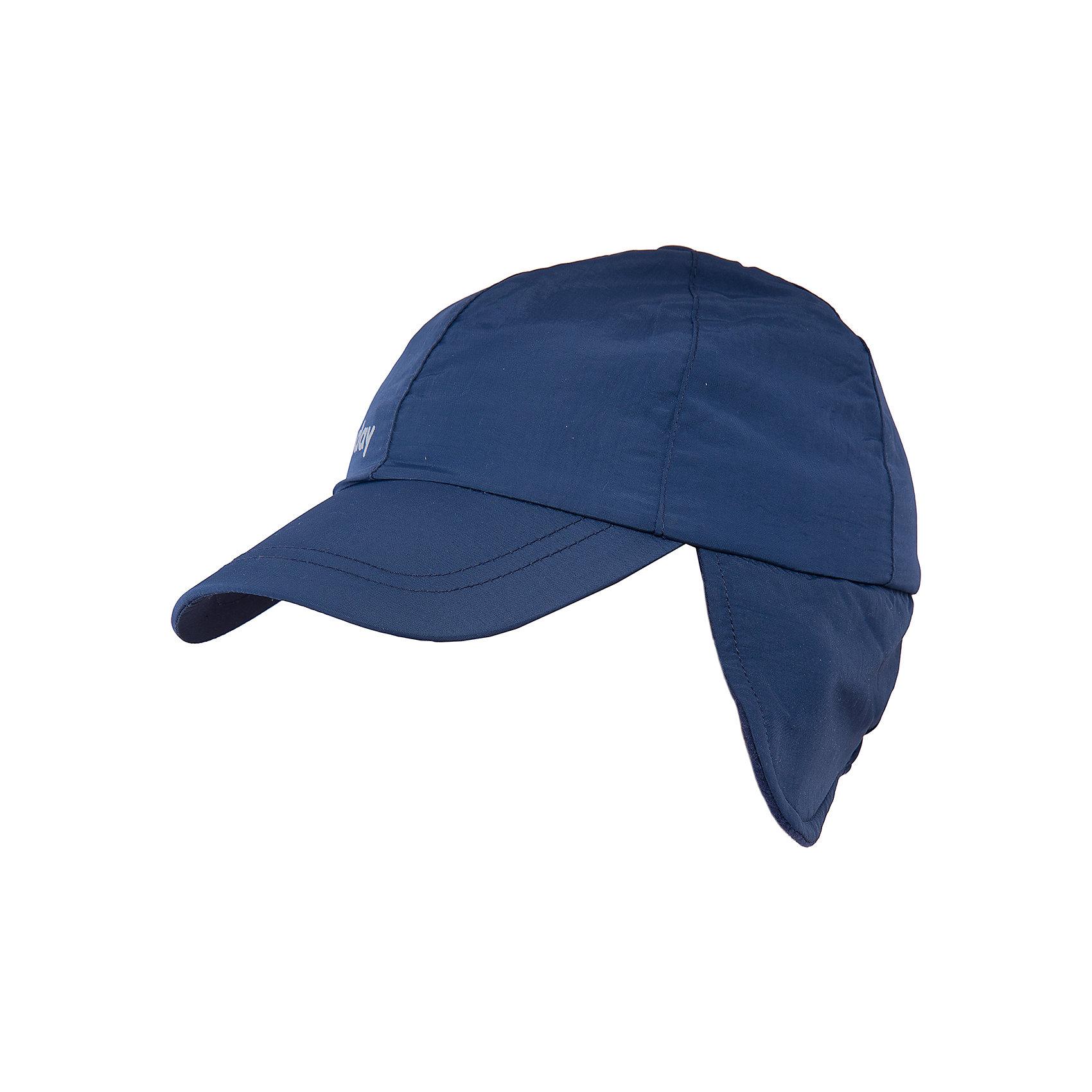 Шапка для мальчика PlayTodayШапка для мальчика от известного бренда PlayToday.<br>Стильная утепленная кепка темно-синего цвета. Внутри уютная флисовая подкладка. Козырек надежно защитит от снега, удлиненные боковые части закрывают уши.<br>Состав:<br>Верх: 100% полиэстер, подкладка: 100% полиэстер<br><br>Ширина мм: 89<br>Глубина мм: 117<br>Высота мм: 44<br>Вес г: 155<br>Цвет: синий<br>Возраст от месяцев: 24<br>Возраст до месяцев: 36<br>Пол: Мужской<br>Возраст: Детский<br>Размер: 50,52,54<br>SKU: 4897308
