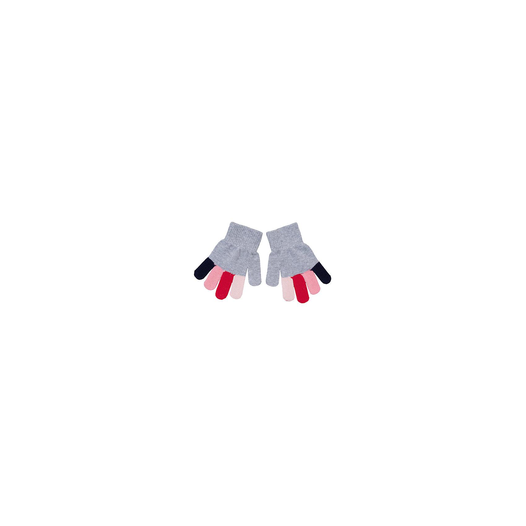 Перчатки для девочки PlayTodayПерчатки для девочки от известного бренда PlayToday.<br>Мягкие перчатки из вязаного трикотажа. Все пальчики разных цветов, выглядит мило и забавно. Верх на широкой резинке.<br>Состав:<br>80% хлопок, 18% нейлон, 2% эластан<br><br>Ширина мм: 162<br>Глубина мм: 171<br>Высота мм: 55<br>Вес г: 119<br>Цвет: разноцветный<br>Возраст от месяцев: 72<br>Возраст до месяцев: 96<br>Пол: Женский<br>Возраст: Детский<br>Размер: 15,13,14<br>SKU: 4897312