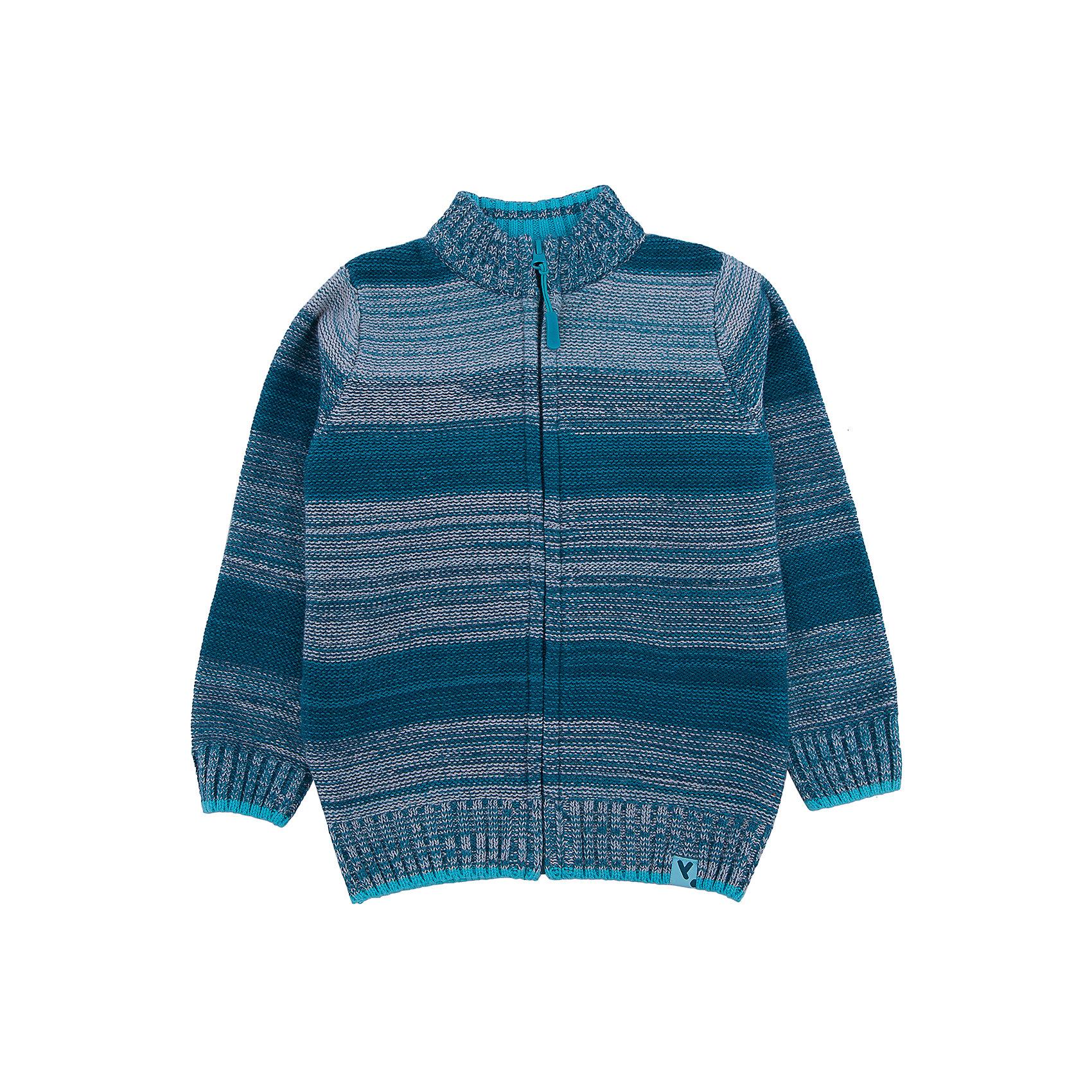 Свитер для мальчика PlayTodayСвитера и кардиганы<br>Свитер для мальчика от известного бренда PlayToday.<br>Уютный свитер из вязаного трикотажа. Стильный цвет бирюзовый меланж. Высокий воротник надежно защитит от ветра. Рукава и низ на мягкой вязаной резинке.<br>Состав:<br>60% хлопок, 40% акрил<br><br>Ширина мм: 190<br>Глубина мм: 74<br>Высота мм: 229<br>Вес г: 236<br>Цвет: белый<br>Возраст от месяцев: 36<br>Возраст до месяцев: 48<br>Пол: Мужской<br>Возраст: Детский<br>Размер: 104,122,128,110,98,116<br>SKU: 4897316