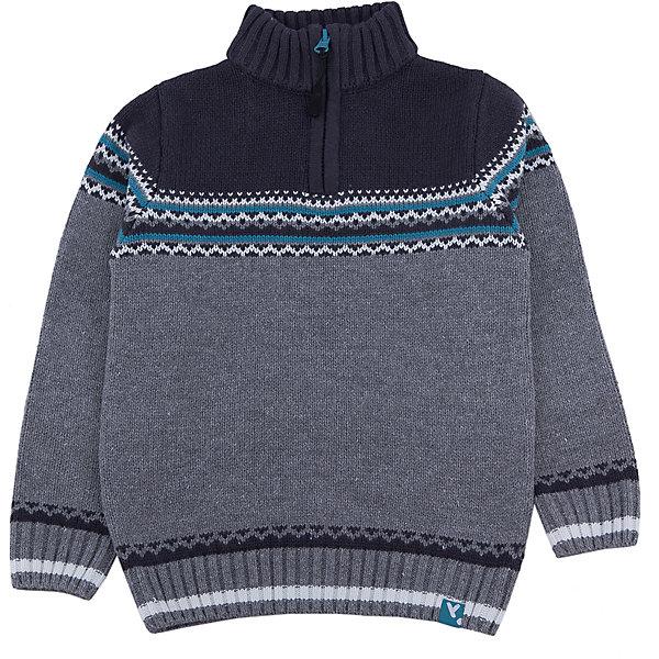 Свитер для мальчика PlayTodayСвитера и кардиганы<br>Свитер для мальчика от известного бренда PlayToday.<br>Уютный свитер из вязаного трикотажа. Украшен стильным жаккардовым рисунком. Высокий воротник надежно защитит от ветра. Рукава и низ на мягкой вязаной резинке.<br>Состав:<br>60% хлопок, 40% акрил<br>Ширина мм: 190; Глубина мм: 74; Высота мм: 229; Вес г: 236; Цвет: белый; Возраст от месяцев: 36; Возраст до месяцев: 48; Пол: Мужской; Возраст: Детский; Размер: 104,122,116,98,110,128; SKU: 4897323;