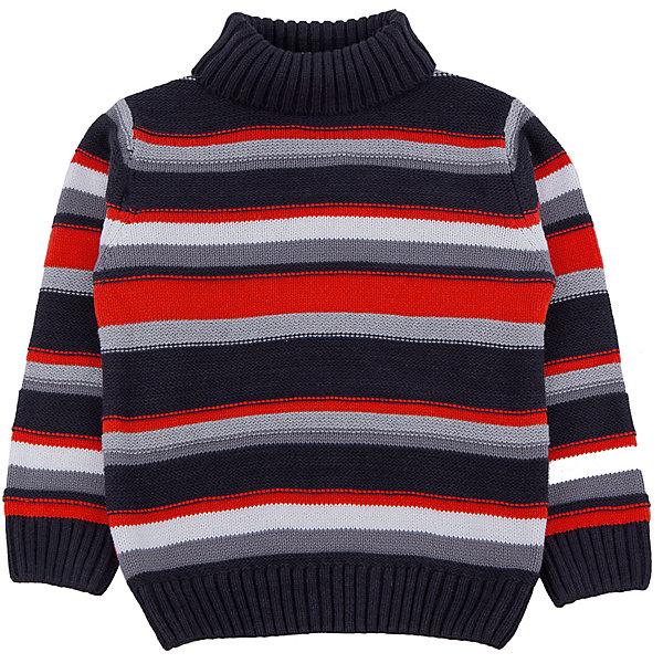 Свитер для мальчика PlayTodayСвитера и кардиганы<br>Свитер для мальчика от известного бренда PlayToday.<br>Уютный свитер в яркую полоску. Высокий воротник надежно защитит от ветра. Рукава и низ на широкой вязаной резинке.<br>Состав:<br>60% хлопок, 40% акрил<br><br>Ширина мм: 190<br>Глубина мм: 74<br>Высота мм: 229<br>Вес г: 236<br>Цвет: белый<br>Возраст от месяцев: 60<br>Возраст до месяцев: 72<br>Пол: Мужской<br>Возраст: Детский<br>Размер: 116,104,122,98,110,128<br>SKU: 4897337