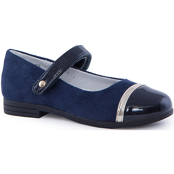 Туфли для девочки PlayTodayОбувь<br>Туфли для девочки от известного бренда PlayToday.<br>Стильные туфли для девочек. Внутри мягкая полуортопедическая стелька. Легкая и гибкая подошва с рифлением. Наполненная носочная часть и твердый задник способствуют правильному формированию стопы. <br>Состав:<br>100% Искусственная кожа<br><br>Ширина мм: 227<br>Глубина мм: 145<br>Высота мм: 124<br>Вес г: 325<br>Цвет: синий<br>Возраст от месяцев: 24<br>Возраст до месяцев: 24<br>Пол: Женский<br>Возраст: Детский<br>Размер: 25,27,26,28,30,29<br>SKU: 4897352