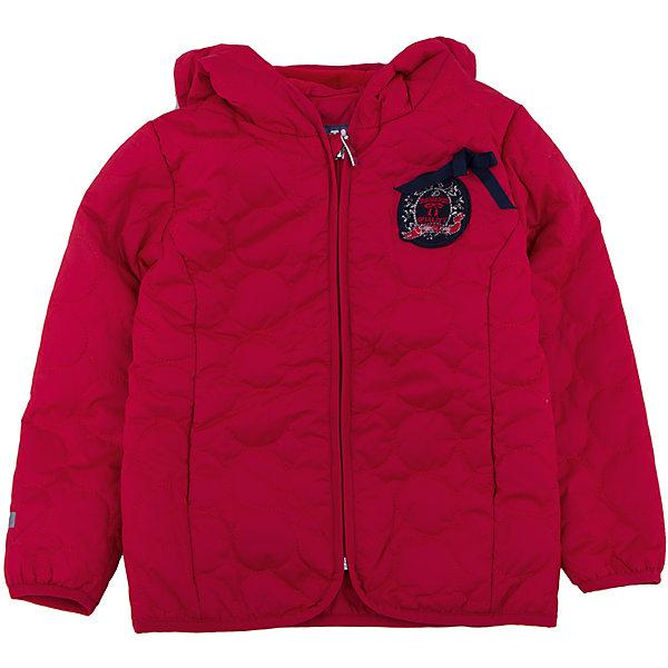Куртка для девочки PlayTodayДемисезонные куртки<br>Куртка для девочки от известного бренда PlayToday.<br>Стильная красная куртка с фигурной стежкой.  Отсутствие большого количества синтепона компенсируется теплой флисовой подкладкой. Куртка легкая и удобная, но в ней можно гулять хоть весь день. Застегивается на молнию с защитой подбородка. Края обработаны мягким эластичным кантом для защиты от ветра.<br>Состав:<br>Верх: 100% полиэстер, Подкладка: 100% полиэстер, Наполнитель: 100% полиэстер, 150 г/м2<br><br>Ширина мм: 356<br>Глубина мм: 10<br>Высота мм: 245<br>Вес г: 519<br>Цвет: красный<br>Возраст от месяцев: 24<br>Возраст до месяцев: 36<br>Пол: Женский<br>Возраст: Детский<br>Размер: 98,104,122,110,116,128<br>SKU: 4897537