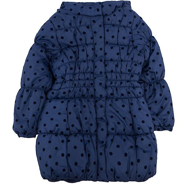 Пальто для девочки PlayTodayПальто и плащи<br>Пальто для девочки от известного бренда PlayToday.<br>Стильная удлиненная куртка с капюшоном. Украшена мягким флоковым принтом в горошек. Эластичная стежка создает отличную посадку по фигуре и увеличивает теплозащитные свойства. Застегивается на молнию, есть ветрозащитная планка на кнопках. Рукава и низ на резинке.<br>Состав:<br>Верх: 100% полиэстер, Подкладка: 100% полиэстер, Наполнитель: 100% полиэстер, 250 г/м2<br><br>Ширина мм: 356<br>Глубина мм: 10<br>Высота мм: 245<br>Вес г: 519<br>Цвет: синий<br>Возраст от месяцев: 48<br>Возраст до месяцев: 60<br>Пол: Женский<br>Возраст: Детский<br>Размер: 110,122,116,98,128,104<br>SKU: 4897551
