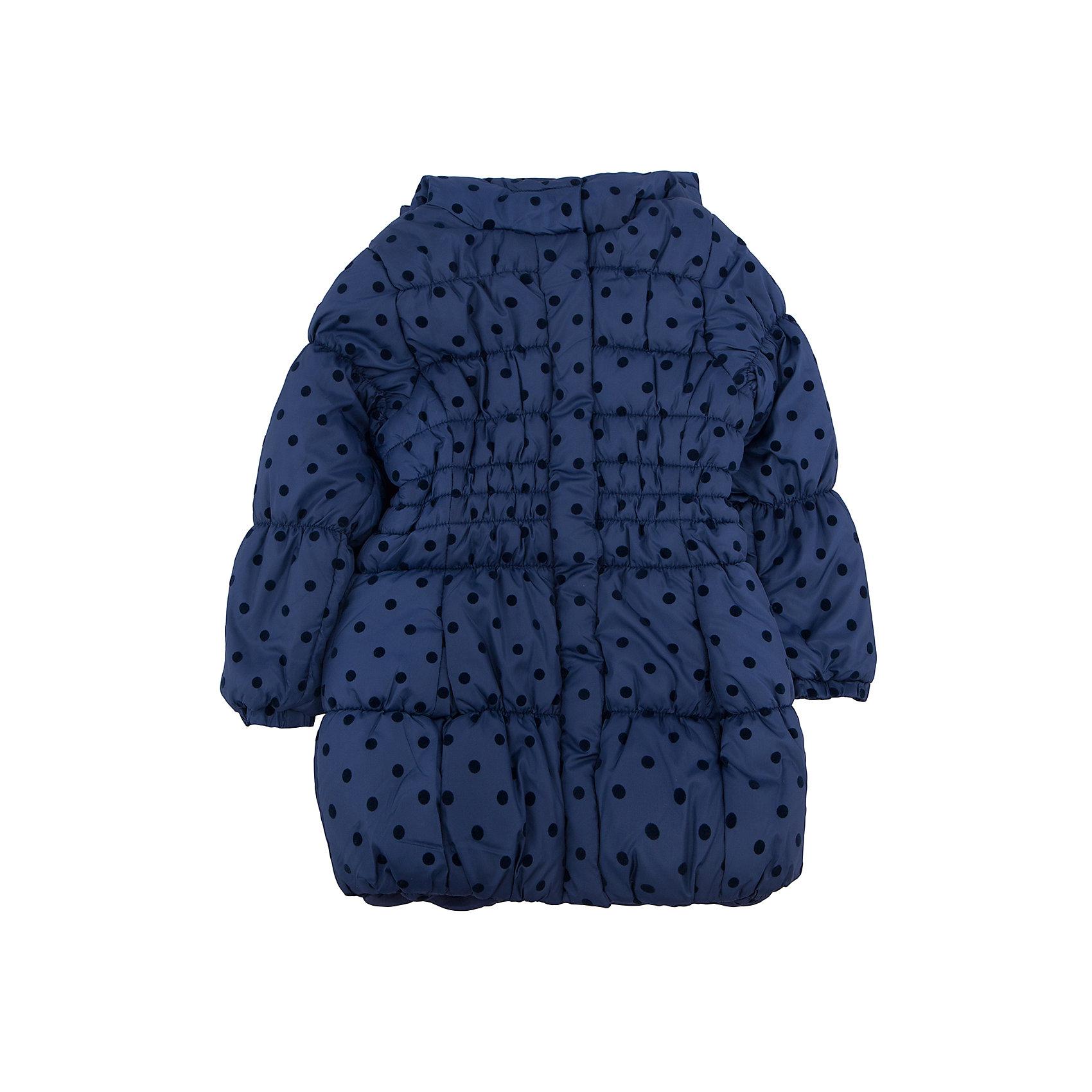 Пальто для девочки PlayTodayВерхняя одежда<br>Пальто для девочки от известного бренда PlayToday.<br>Стильная удлиненная куртка с капюшоном. Украшена мягким флоковым принтом в горошек. Эластичная стежка создает отличную посадку по фигуре и увеличивает теплозащитные свойства. Застегивается на молнию, есть ветрозащитная планка на кнопках. Рукава и низ на резинке.<br>Состав:<br>Верх: 100% полиэстер, Подкладка: 100% полиэстер, Наполнитель: 100% полиэстер, 250 г/м2<br><br>Ширина мм: 356<br>Глубина мм: 10<br>Высота мм: 245<br>Вес г: 519<br>Цвет: синий<br>Возраст от месяцев: 36<br>Возраст до месяцев: 48<br>Пол: Женский<br>Возраст: Детский<br>Размер: 104,122,128,98,110,116<br>SKU: 4897551