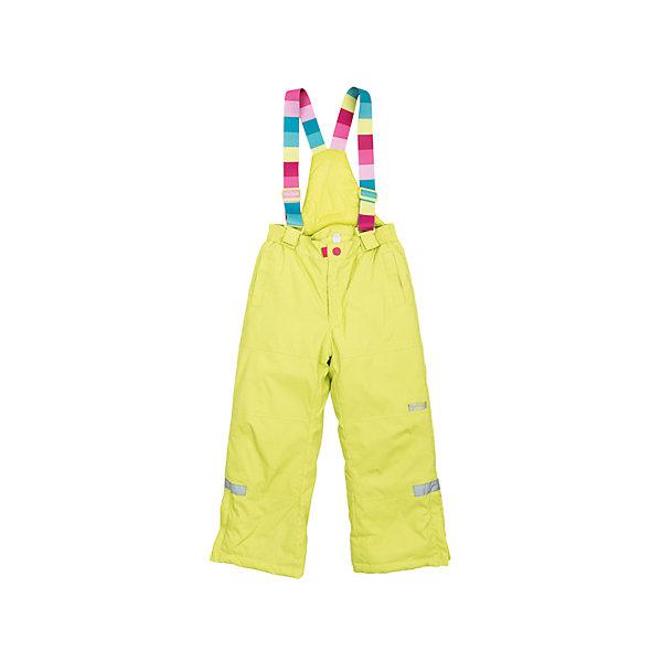 Брюки для девочки PlayTodayВерхняя одежда<br>Брюки для девочки от известного бренда PlayToday.<br>Яркие утепленные лимонно-лаймовые брюки. По бокам два функциональных кармана со специальным манжетом для защиты от снега. Застегиваются на молнию и кнопку. Пояс на резинке, низ штанишек по бокам застегивается на молнию. Внутри уютная флисовая подкладка. Есть специальный слой - снегозащита, который надевается на сапог. Эластичные принтованные бретели регулируются по длине.<br>Состав:<br>Верх: 100% нейлон, подкладка: 100% полиэстер, наполнитель: 100% полиэстер, 150 г/м2<br><br>Ширина мм: 215<br>Глубина мм: 88<br>Высота мм: 191<br>Вес г: 336<br>Цвет: желтый<br>Возраст от месяцев: 24<br>Возраст до месяцев: 36<br>Пол: Женский<br>Возраст: Детский<br>Размер: 122,104,128,110,116,98<br>SKU: 4897757