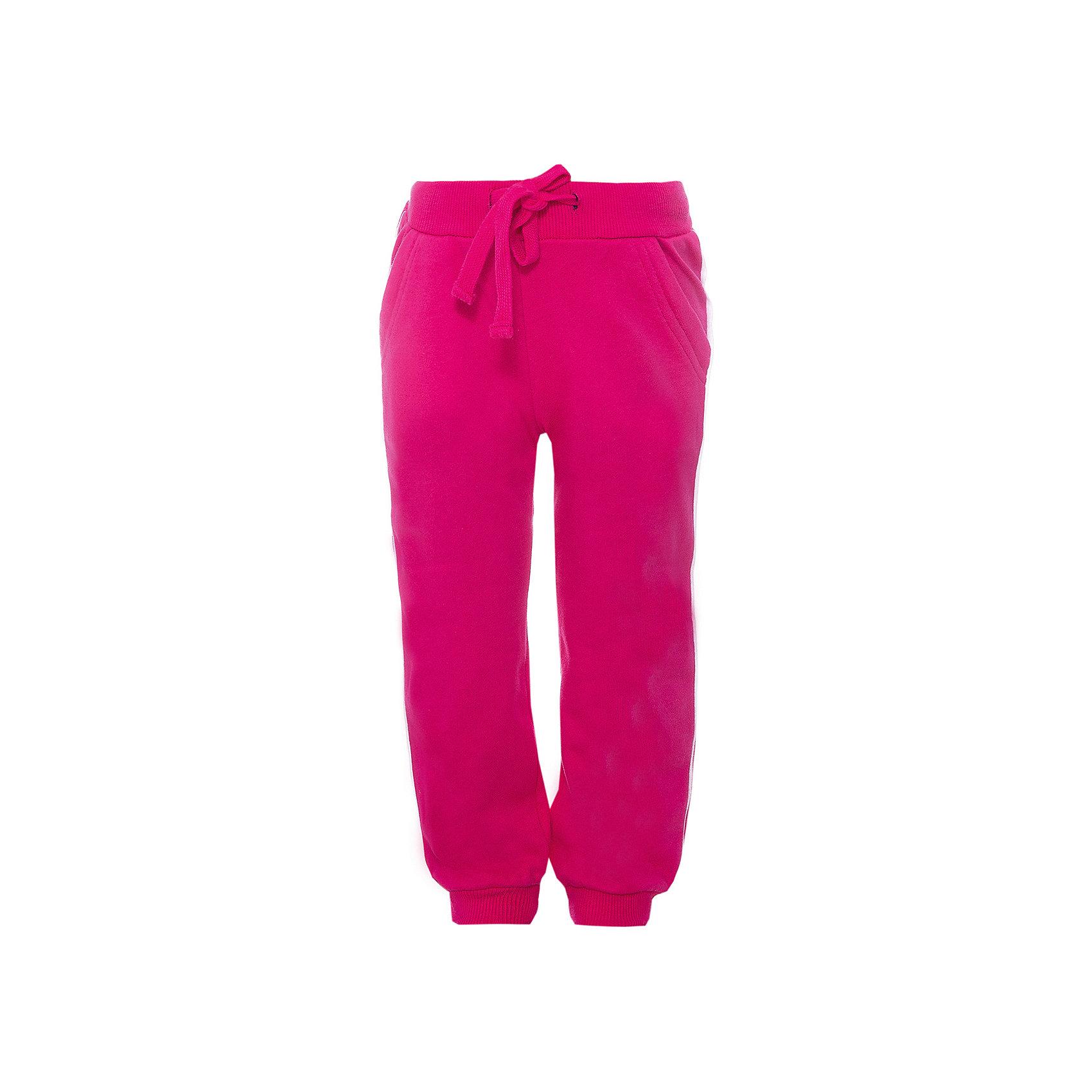 Брюки для девочки PlayTodayБрюки<br>Брюки для девочки от известного бренда PlayToday.<br>Яркие розовые брюки из футера в спортивном стиле. Пояс на резинке, дополнительно регулируется шнурком. По бокам лампасы. Есть два функциональных кармана. Низ шианишек на трикотажной резинке.<br>Состав:<br>80% хлопок, 20% полиэстер<br><br>Ширина мм: 215<br>Глубина мм: 88<br>Высота мм: 191<br>Вес г: 336<br>Цвет: розовый<br>Возраст от месяцев: 84<br>Возраст до месяцев: 96<br>Пол: Женский<br>Возраст: Детский<br>Размер: 128,110,116,98,134,140,122,104<br>SKU: 4897782