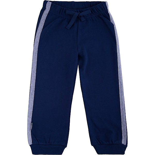 Брюки для мальчика PlayTodayБрюки<br>Брюки для мальчика от известного бренда PlayToday.<br>Стильные брюки из футера в спортивном стиле. Пояс на резинке, дополнительно регулируется тесьмой. По бокам лампасы цвета серый меланж. Низ штанишек на широкой трикотажной резинке.<br>Состав:<br>80% хлопок, 20% полиэстер<br>Ширина мм: 215; Глубина мм: 88; Высота мм: 191; Вес г: 336; Цвет: белый; Возраст от месяцев: 24; Возраст до месяцев: 36; Пол: Мужской; Возраст: Детский; Размер: 98,104,122,116,110,140,134,128; SKU: 4897854;