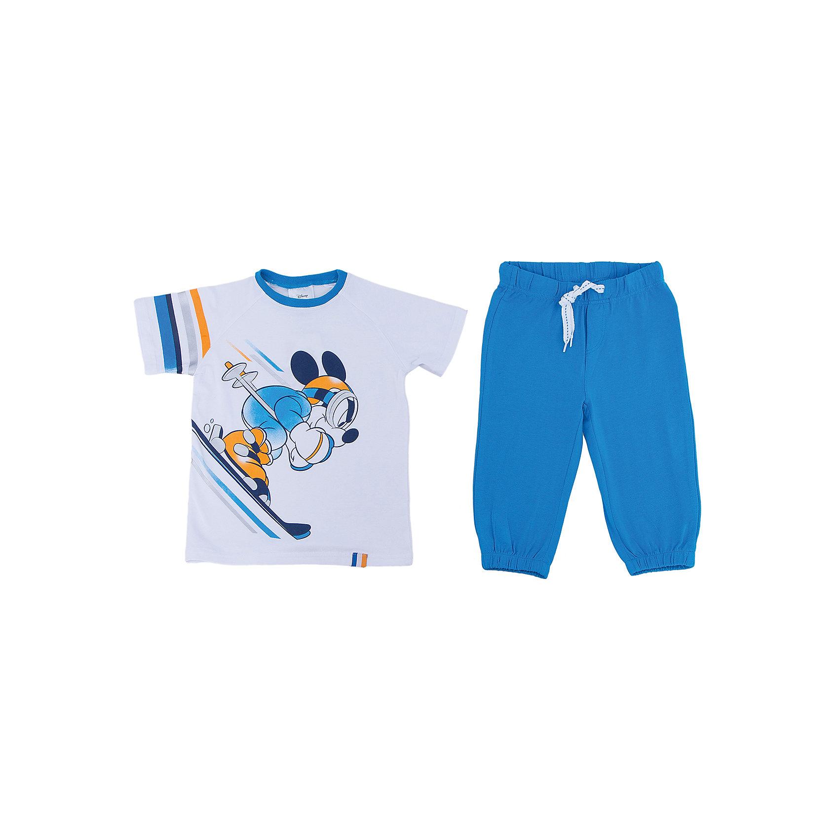 PlayToday Комплект: футболка и бриджи для мальчика PlayToday