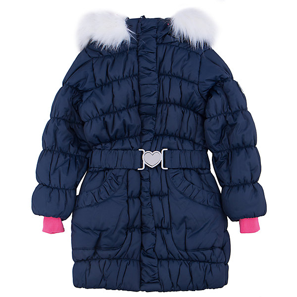 Пальто для девочки PlayTodayВерхняя одежда<br>Пальто для девочки от известного бренда PlayToday.<br>Теплое удлиненное пальто. Рукава и пояс на резинке. Застегивается на молнию, есть два функциональных кармана. Капюшон украшен искусственным белым мехом.<br>Состав:<br>Верх: 100% полиэстер, Подкладка: 100% полиэстер, Наполнитель: 100% полиэстер, 260 г/м2<br>Ширина мм: 356; Глубина мм: 10; Высота мм: 245; Вес г: 519; Цвет: синий; Возраст от месяцев: 36; Возраст до месяцев: 48; Пол: Женский; Возраст: Детский; Размер: 104,122,116,110,98,128; SKU: 4897976;