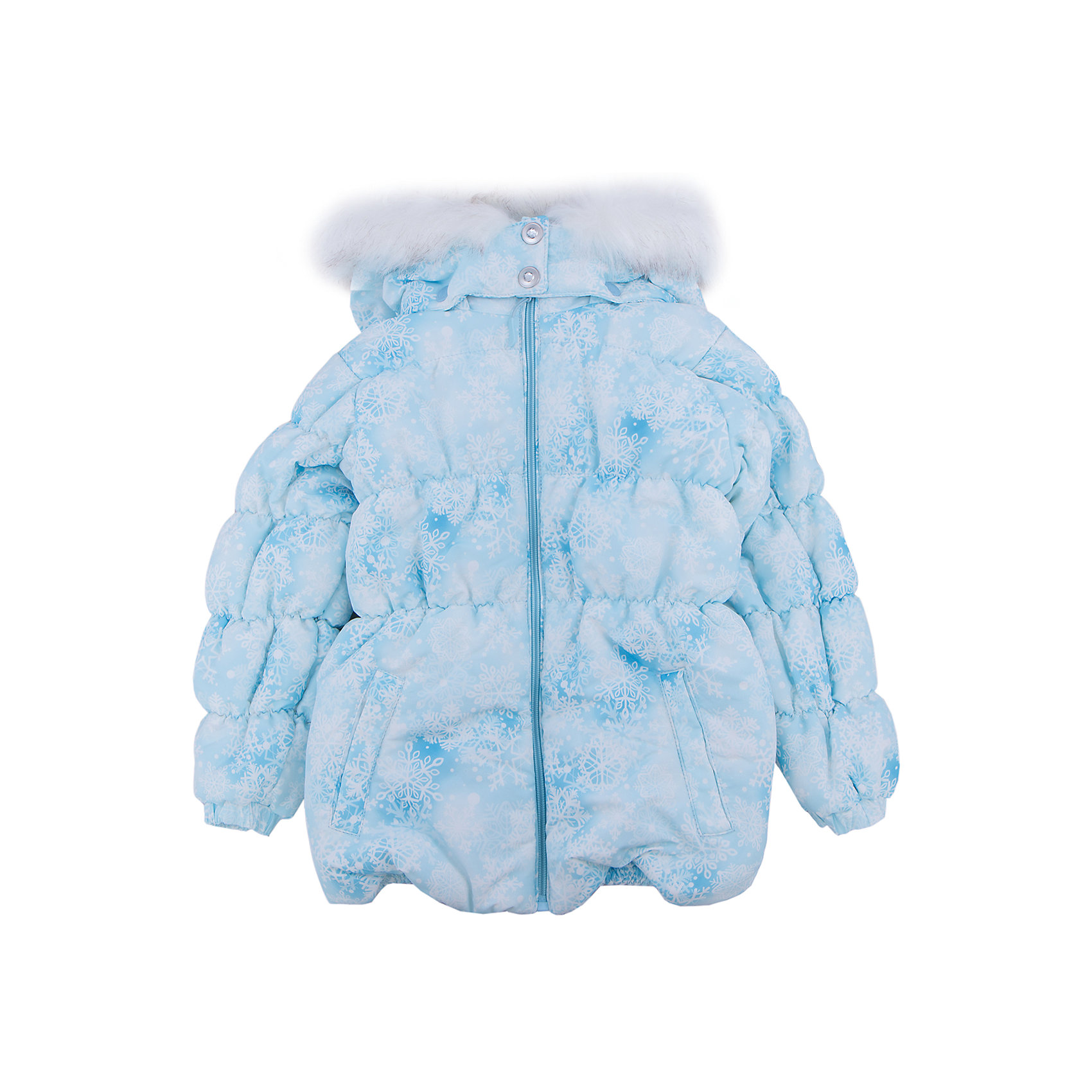 Куртка для девочки PlayTodayЗимние куртки<br>Куртка для девочки от известного бренда PlayToday.<br>Теплая куртка для девочки. Рукава и пояс на резинке. Застегивается на молнию, есть два функциональных кармана на кнопках. Капюшон украшен искусственным белым мехом. Удобно отстегивается.<br>Состав:<br>Верх: 100% полиэстер, Подкладка: 100% полиэстер, Наполнитель: 100% полиэстер, 260 г/м2<br><br>Ширина мм: 356<br>Глубина мм: 10<br>Высота мм: 245<br>Вес г: 519<br>Цвет: голубой<br>Возраст от месяцев: 24<br>Возраст до месяцев: 36<br>Пол: Женский<br>Возраст: Детский<br>Размер: 98,122,104,128,116,110<br>SKU: 4897983