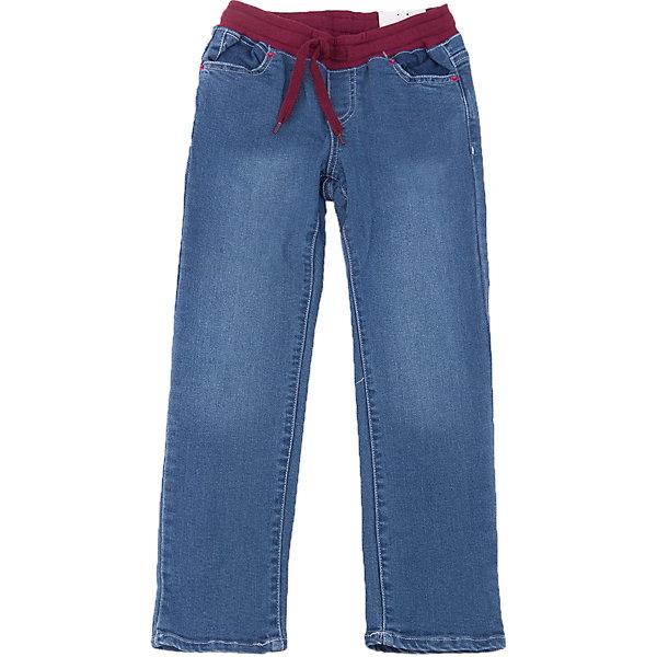 Джинсы для девочки PlayTodayДжинсы<br>Джинсы для девочки от известного бренда PlayToday.<br>Стильные хлопковые джинсы с модными потертостями. Пояс на трикотажной резинке бордового цвета, дополнительно регулируется шнурком. Есть 4 функциональных кармана. <br>Состав:<br>47% вискоза, 41% хлопок, 10% полиэстер, 2% эластан<br>Ширина мм: 215; Глубина мм: 88; Высота мм: 191; Вес г: 336; Цвет: синий; Возраст от месяцев: 48; Возраст до месяцев: 60; Пол: Женский; Возраст: Детский; Размер: 110,98,116,128,104,122; SKU: 4898004;