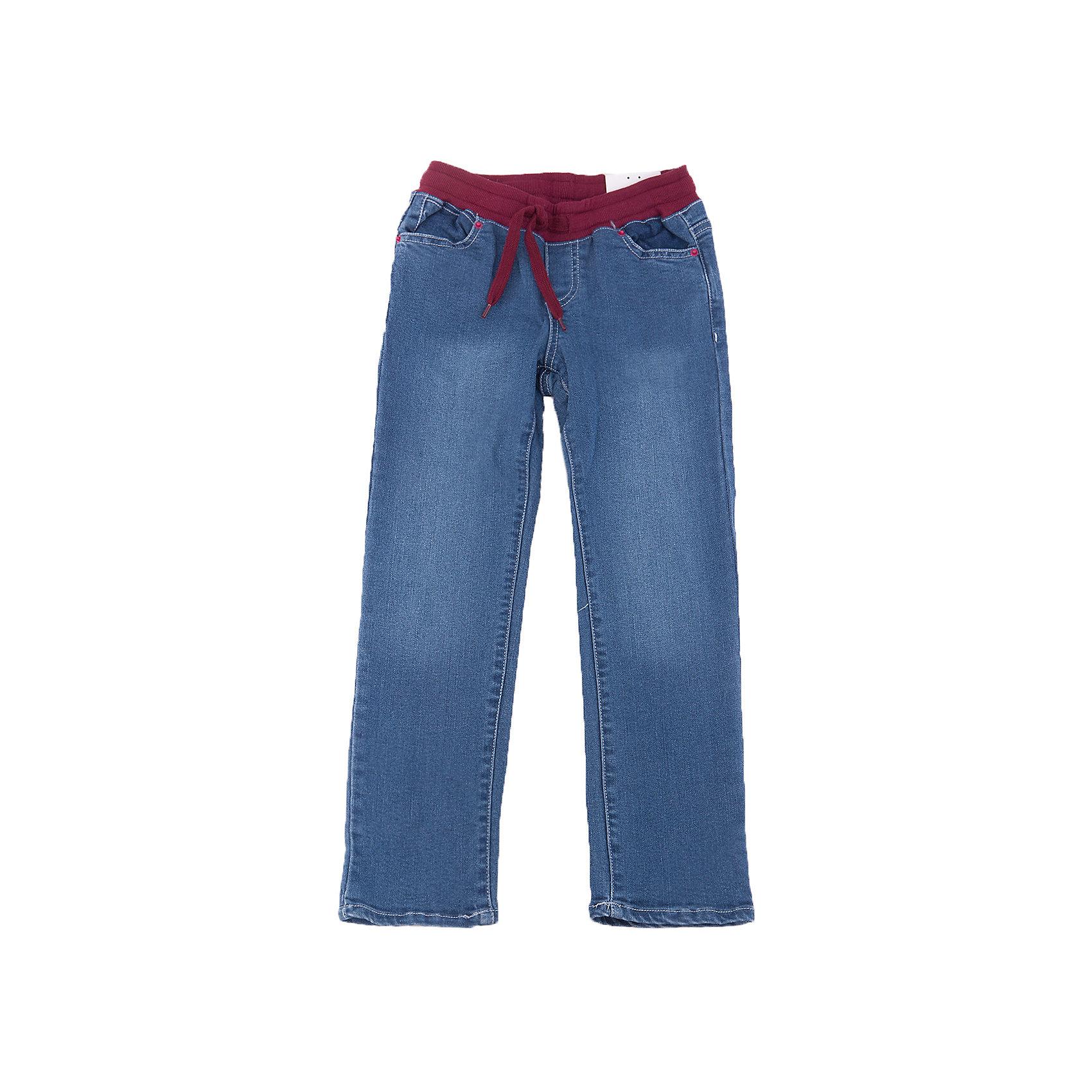 Джинсы для девочки PlayTodayДжинсы для девочки от известного бренда PlayToday.<br>Стильные хлопковые джинсы с модными потертостями. Пояс на трикотажной резинке бордового цвета, дополнительно регулируется шнурком. Есть 4 функциональных кармана. <br>Состав:<br>47% вискоза, 41% хлопок, 10% полиэстер, 2% эластан<br><br>Ширина мм: 215<br>Глубина мм: 88<br>Высота мм: 191<br>Вес г: 336<br>Цвет: синий<br>Возраст от месяцев: 72<br>Возраст до месяцев: 84<br>Пол: Женский<br>Возраст: Детский<br>Размер: 122,104,98,128,110,116<br>SKU: 4898004