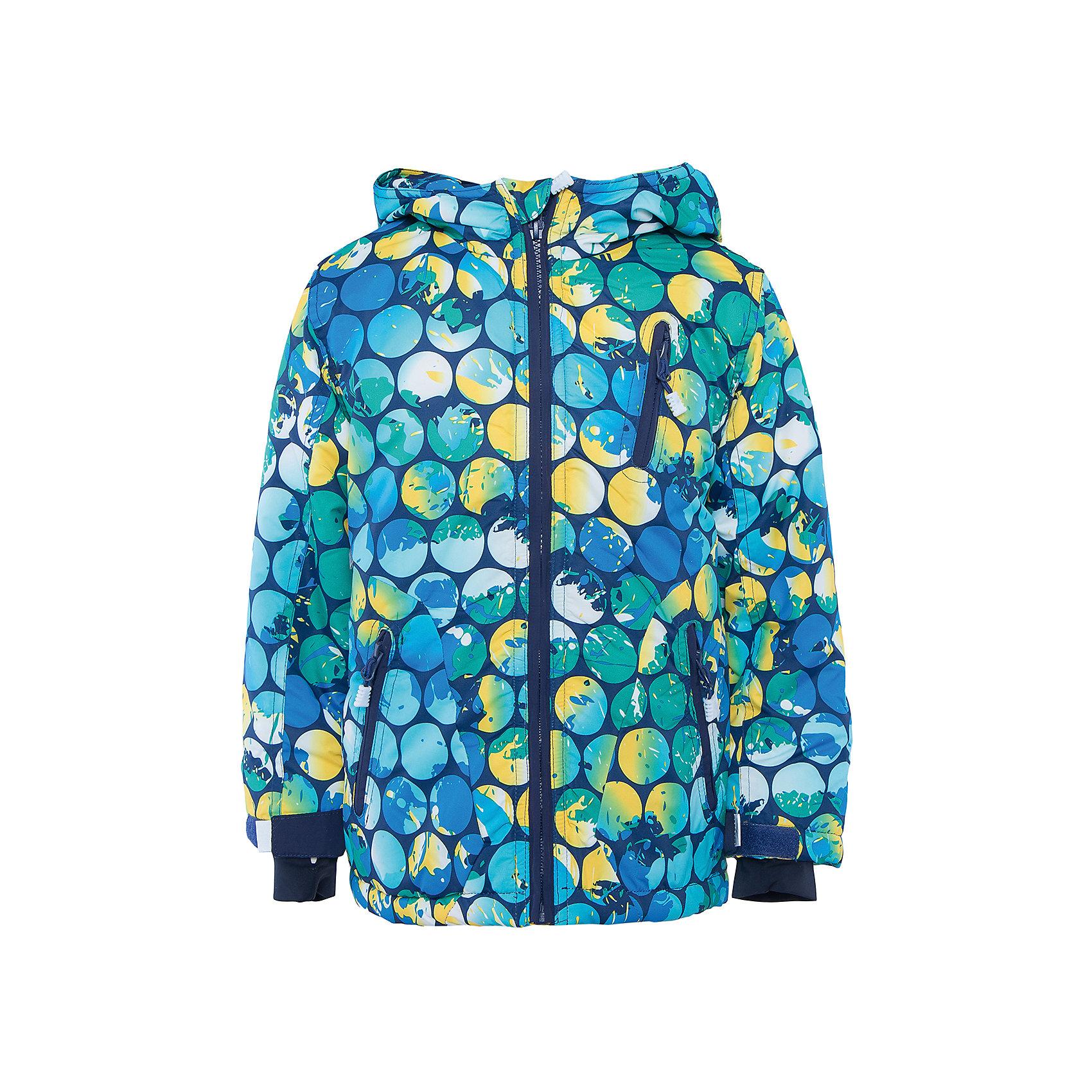 Куртка для мальчика PlayTodayВерхняя одежда<br>Куртка для мальчика от известного бренда PlayToday.<br>Мягкая и теплая стеганая куртка. Внутри уютная флисвоая подкладка. Украшена ярким стильным принтом с неоновым эффектом. Застегивается на молнию с защитой подбородка, есть внутренняя ветрозащитная планка. Внизу есть специальная вставка на резинке, пристегнув которую вы надежно защитите малыша от снега. Капюшон утягивается стопперами, есть два кармана на молнии.  На рукавах дополнительные трикотажные манжеты-полуварежки с отверствием для большого пальца, которые обеспечивают защиту от ветра и снега.<br>Состав:<br>Верх: 100% полиэстер, Подкладка: 100% полиэстер, Наполнитель: 100% полиэстер, 300 г/м2<br><br>Ширина мм: 356<br>Глубина мм: 10<br>Высота мм: 245<br>Вес г: 519<br>Цвет: разноцветный<br>Возраст от месяцев: 24<br>Возраст до месяцев: 36<br>Пол: Мужской<br>Возраст: Детский<br>Размер: 98,122,104,128,116,110<br>SKU: 4898138