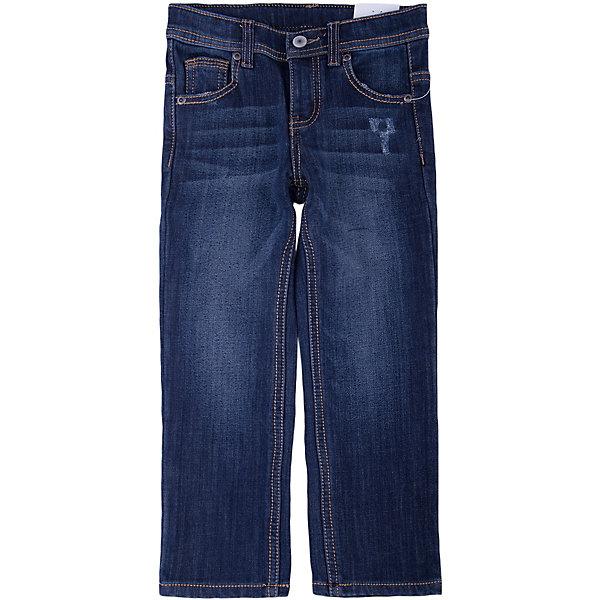 Джинсы для мальчика PlayTodayДжинсы<br>Джинсы для мальчика от известного бренда PlayToday.<br>Стильные джинсы с модными потертостями. Внутри утеплены уютным флисом. Застегиваются на молнию и пуговицу, есть шлевки для ремня. Классическая пятикарманка.<br>Состав:<br>62% хлопок, 23% вискоза, 13% полиэстер, 2% эластан<br>Ширина мм: 215; Глубина мм: 88; Высота мм: 191; Вес г: 336; Цвет: синий; Возраст от месяцев: 36; Возраст до месяцев: 48; Пол: Мужской; Возраст: Детский; Размер: 104,122,98,116,110,128; SKU: 4898278;