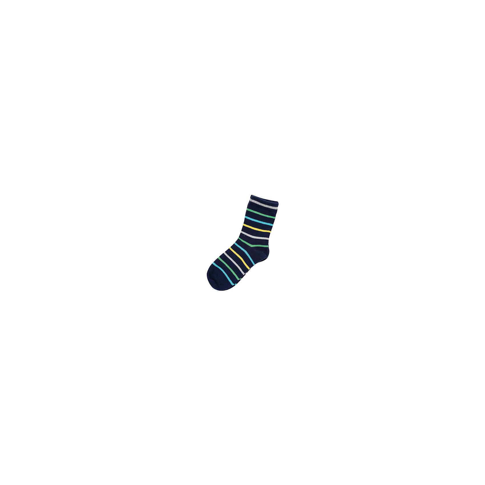 Носки для мальчика PlayTodayНоски для мальчика от известного бренда PlayToday.<br>Уютные полосатые носочки на каждый день. Верх на мягкой резинке.<br>Состав:<br>75% хлопок, 22% нейлон, 3% эластан<br><br>Ширина мм: 87<br>Глубина мм: 10<br>Высота мм: 105<br>Вес г: 115<br>Цвет: разноцветный<br>Возраст от месяцев: 15<br>Возраст до месяцев: 24<br>Пол: Мужской<br>Возраст: Детский<br>Размер: 18,16,14<br>SKU: 4898369