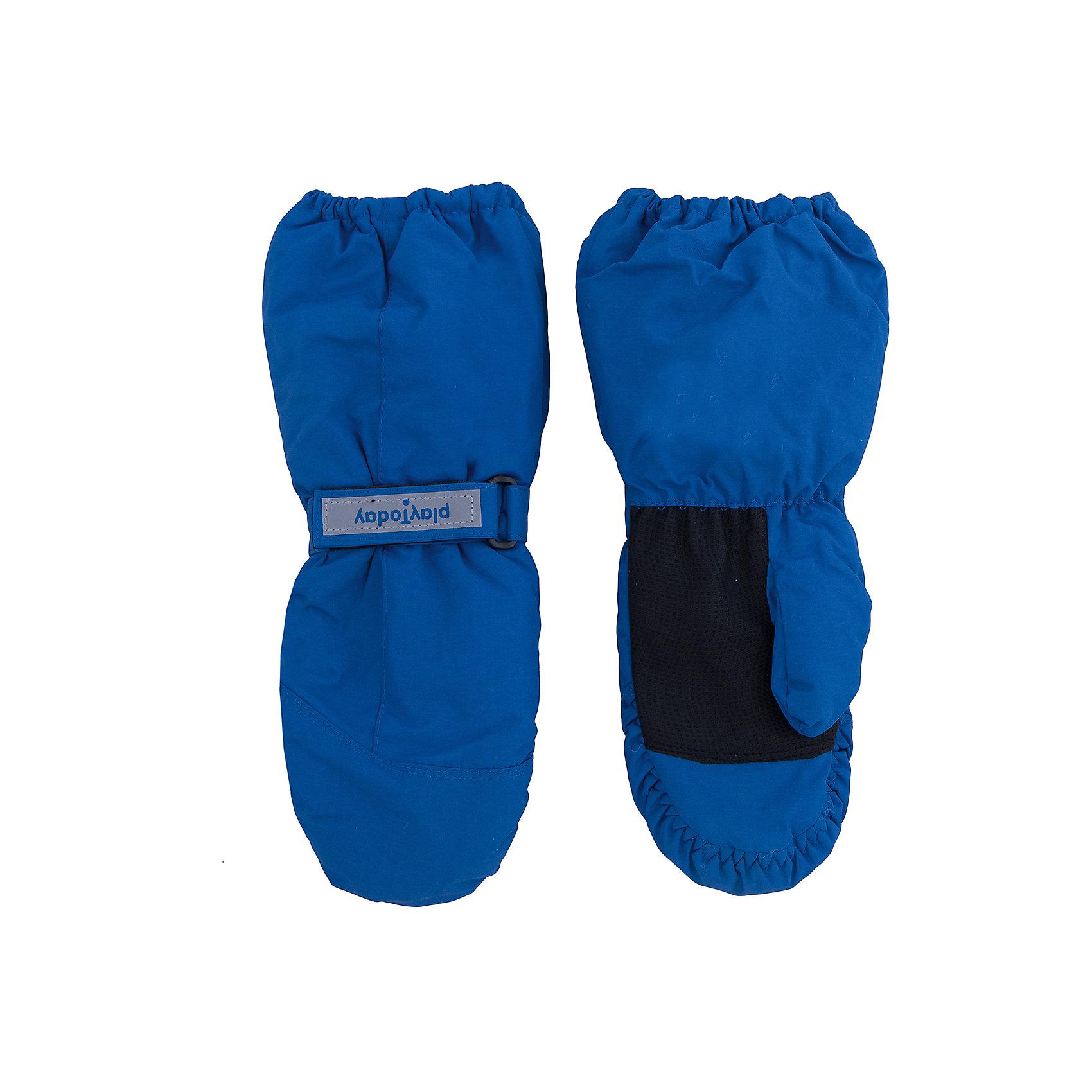 Варежки для девочки PlayTodayВарежки для девочки от известного бренда PlayToday.<br>Теплые рукавицы из непромокаемой плащевки. Утягиваются липучками, верх на мягкой резинке. Усиленный антискользящий материал на ладошках. Внутри уютная флисовая подкладка. Есть крепления для куртки.<br>Состав:<br>Верх: 100% полиэстер, Подкладка: 100% полиэстер, Наполнитель: 100% полиэстер<br><br>Ширина мм: 162<br>Глубина мм: 171<br>Высота мм: 55<br>Вес г: 119<br>Цвет: разноцветный<br>Возраст от месяцев: 36<br>Возраст до месяцев: 48<br>Пол: Женский<br>Возраст: Детский<br>Размер: 13,15,14<br>SKU: 4898466