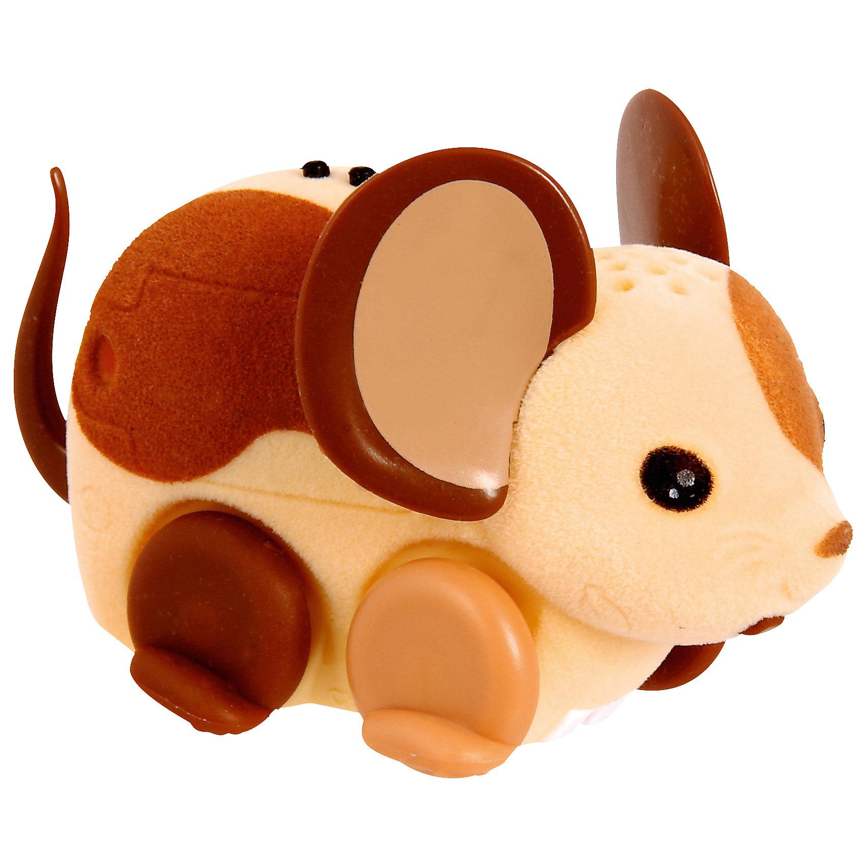 Интерактивная мышка Little Live Pets, бежево-коричневая, MooseИнтерактивные животные<br>Интерактивная мышка Little Live Pets, Moose мягкая, как настоящая мышка. Она умеет быстро двигаться и крутиться. Сенсор на спине позволяет включить игрушку с помощью поглаживания, если мышка заснула. Кнопка включения расположена в области ротика. Такая замечательная мышка обязательно вызовет интерес у малыша!<br><br>Дополнительная информация:<br>Материал: пластик, флок<br>Цвет: бежево-коричневый<br>Батарейки: AG13 (LR44) (входят в комплект)<br><br>Интерактивную мышку Little Live Pets, Moose вы можете приобрести в нашем интернет-магазине.<br><br>Ширина мм: 223<br>Глубина мм: 157<br>Высота мм: 50<br>Вес г: 78<br>Возраст от месяцев: 60<br>Возраст до месяцев: 108<br>Пол: Женский<br>Возраст: Детский<br>SKU: 4898558