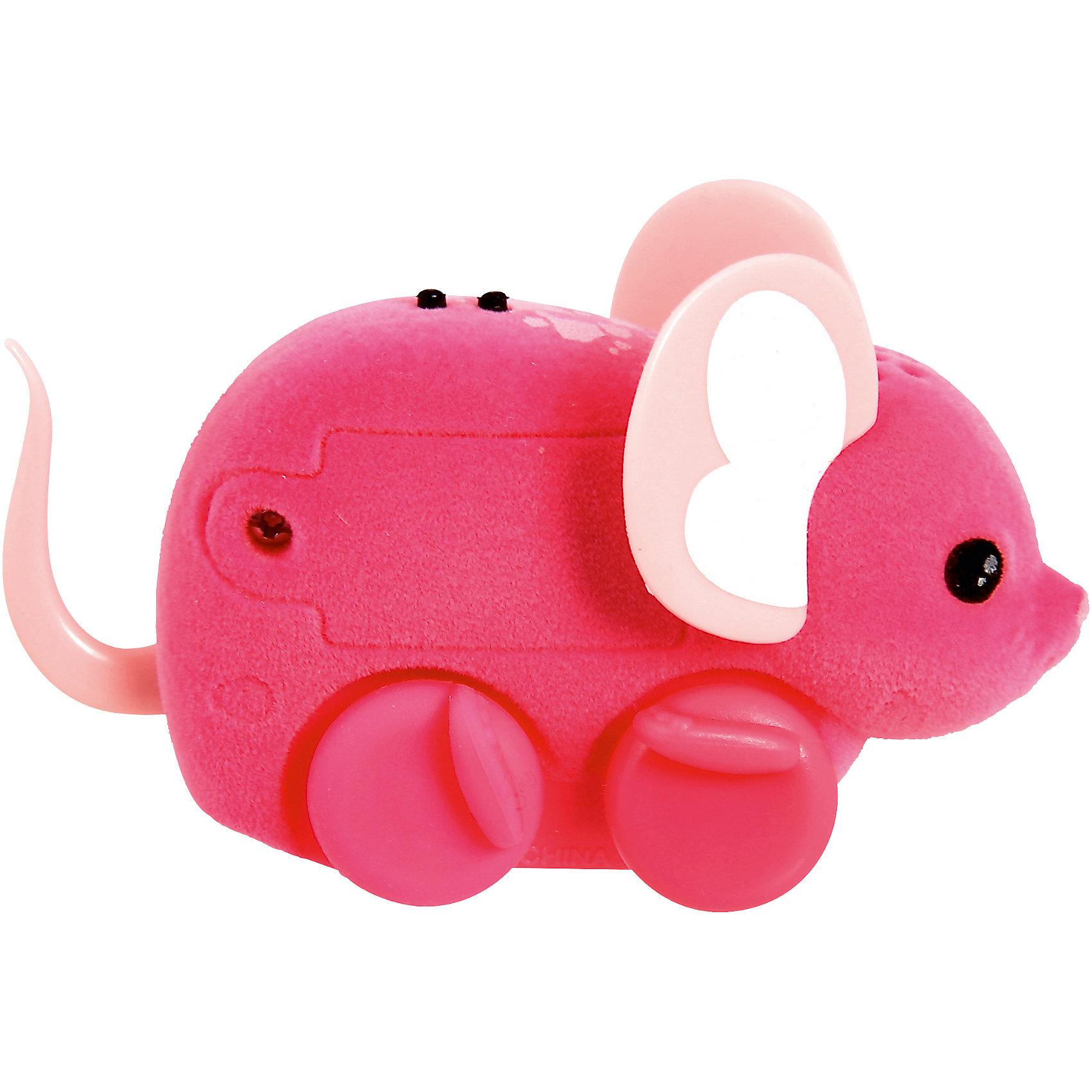 Интерактивная мышка Little Live Pets, розовая, MooseИнтерактивные животные<br>Интерактивная мышка Little Live Pets, Moose мягкая, как настоящая мышка. Она умеет быстро двигаться и крутиться. Сенсор на спине позволяет включить игрушку с помощью поглаживания, если мышка заснула. Кнопка включения расположена в области ротика. Такая замечательная мышка обязательно вызовет интерес у малыша!<br><br>Дополнительная информация:<br>Материал: пластик, флок<br>Цвет: розовый<br>Батарейки: AG13 (LR44) (входят в комплект)<br><br>Интерактивную мышку Little Live Pets, Moose вы можете приобрести в нашем интернет-магазине.<br><br>Ширина мм: 225<br>Глубина мм: 159<br>Высота мм: 50<br>Вес г: 78<br>Возраст от месяцев: 60<br>Возраст до месяцев: 108<br>Пол: Женский<br>Возраст: Детский<br>SKU: 4898559