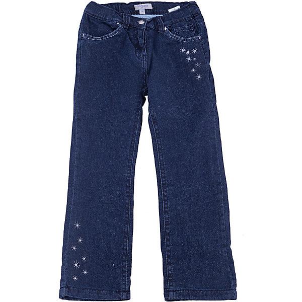 Джинсы для девочки PlayTodayДжинсы<br>Джинсы для девочки от известного бренда PlayToday.<br>Стильные хлопковые джинсы на мягкой трикотажной подкладке. Классическая пятикарманка. Застегиваются на молнию и пуговицу, есть шлевки для ремня. Украшены маленькими вышитыми звездочками спереди и на задних карманах.<br>Состав:<br>Верх: 99% хлопок, 1% эластан, <br>подкладка: 100% хлопок<br>Ширина мм: 215; Глубина мм: 88; Высота мм: 191; Вес г: 336; Цвет: синий; Возраст от месяцев: 36; Возраст до месяцев: 48; Пол: Женский; Возраст: Детский; Размер: 104,122,98,116,110,128; SKU: 4900211;