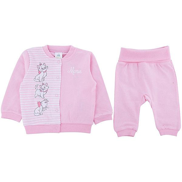 Купить Комплект: толстовка и брюки для девочки PlayToday, Китай, розовый, 56, 74, 68, 62, Женский