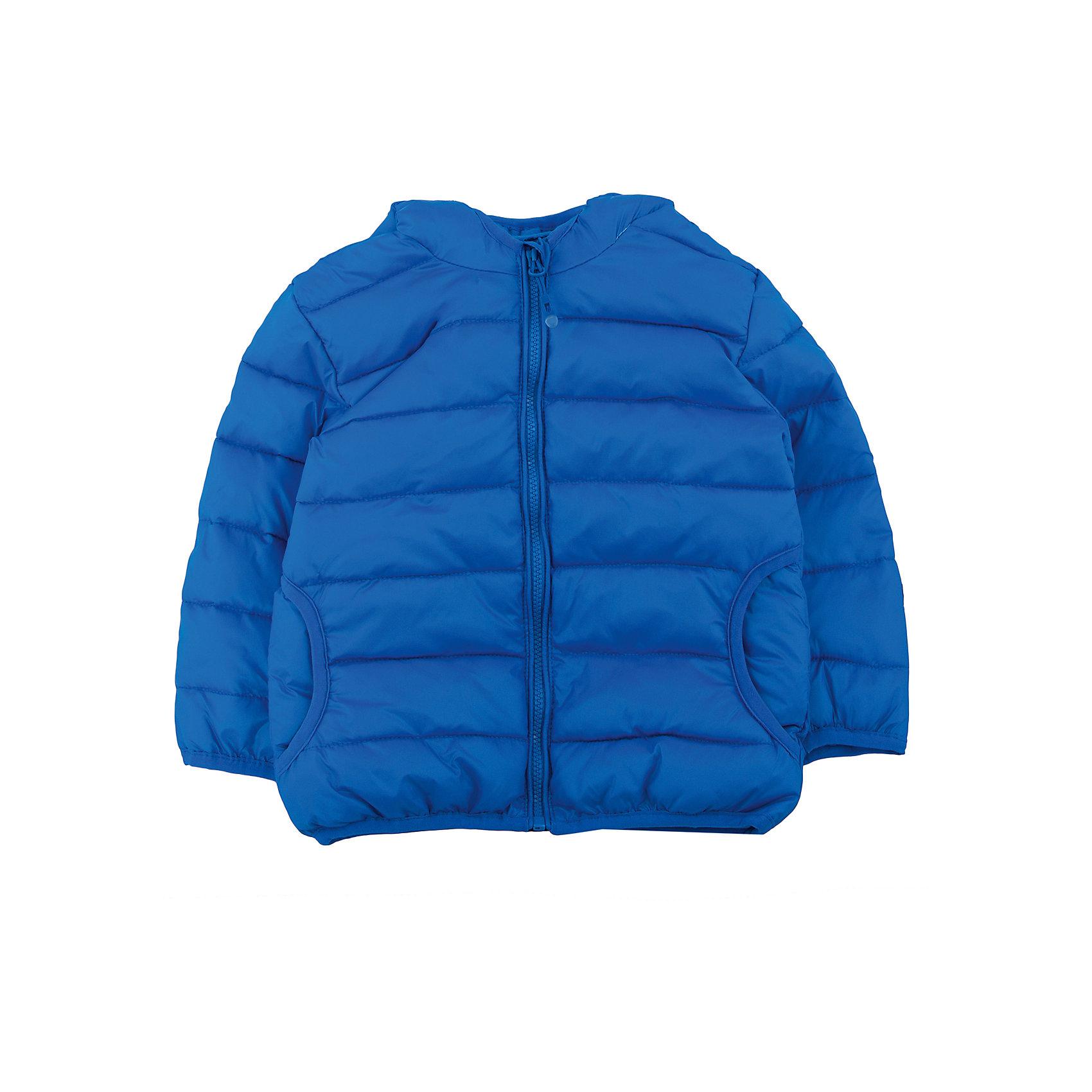 Куртка для мальчика PlayTodayКуртка для мальчика от известного бренда PlayToday.<br>Яркая стеганая куртка для мальчика. Внутри уютная хлопковая подкладка. Застегивается на молнию с защитой подбородка и фигурным пуллером. Капюшон, рукава и низ на мягкой резиночке.<br>Состав:<br>Верх: 100% нейлон, подкладка: 65% хлопок, 35% полиэстер, Утеплитель: 100% полиэстер, 120 г/м2<br><br>Ширина мм: 157<br>Глубина мм: 13<br>Высота мм: 119<br>Вес г: 200<br>Цвет: синий<br>Возраст от месяцев: 6<br>Возраст до месяцев: 9<br>Пол: Мужской<br>Возраст: Детский<br>Размер: 74,86,92,80<br>SKU: 4900359