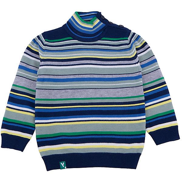 Джемпер для мальчика PlayTodayТолстовки, свитера, кардиганы<br>Джемпер для мальчика от известного бренда PlayToday.<br>Уютный свитер из вязаного трикотажа. Стильный рисунок в разнокалиберную полоску. Воротник, рукава и низ на мягкой вязаной резинке. Высокий воротник-стойка защитит от ветра. Застегивается на пуговицы на плече, чтобы его удобно было надевать и снимать.<br>Состав:<br>50% вискоза, 50% нейлон<br><br>Ширина мм: 157<br>Глубина мм: 13<br>Высота мм: 119<br>Вес г: 200<br>Цвет: белый<br>Возраст от месяцев: 12<br>Возраст до месяцев: 15<br>Пол: Мужской<br>Возраст: Детский<br>Размер: 80,92,86,74<br>SKU: 4900471
