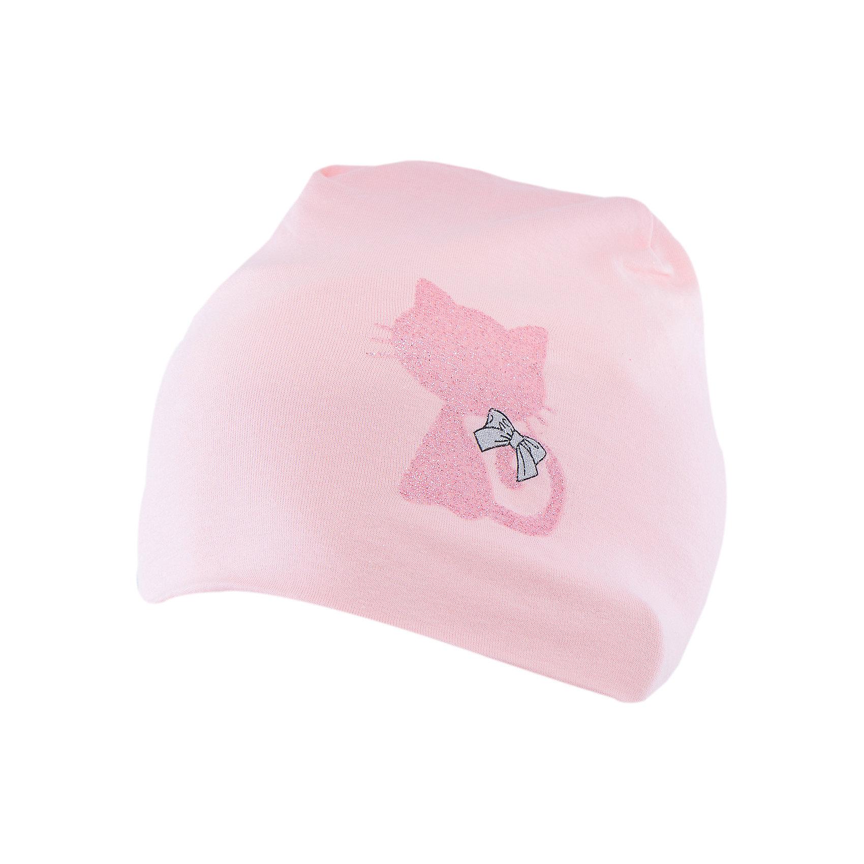 Шапка для девочки PlayTodayШапка для девочки от известного бренда PlayToday.<br>Уютная хлопковая шапочка нежного персикового цвета.<br>Состав:<br>95% хлопок, 5% эластан<br><br>Ширина мм: 157<br>Глубина мм: 13<br>Высота мм: 119<br>Вес г: 200<br>Цвет: розовый<br>Возраст от месяцев: 12<br>Возраст до месяцев: 18<br>Пол: Женский<br>Возраст: Детский<br>Размер: 46,48<br>SKU: 4900667