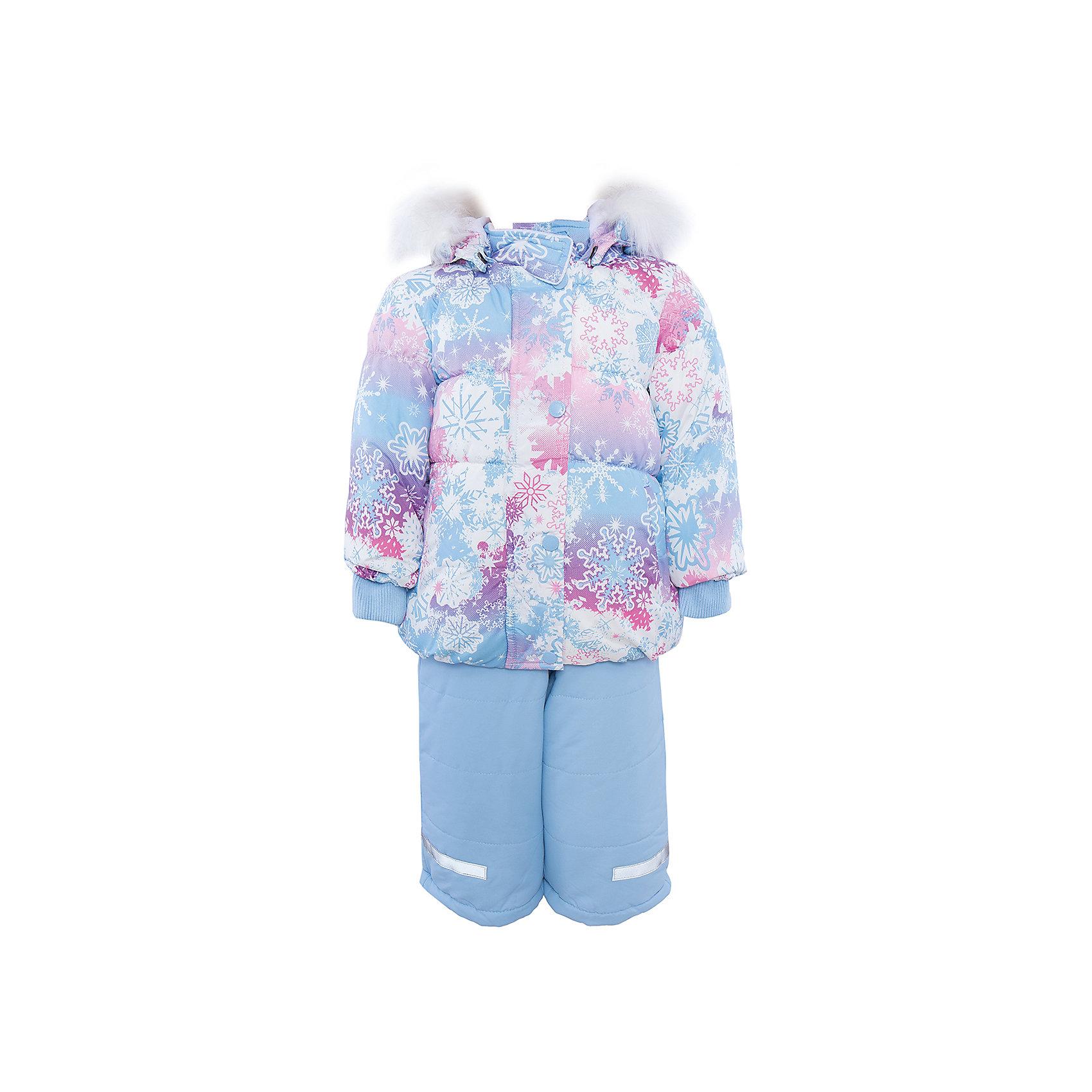 Комплект: куртка и полукомбинезон для девочки PlayTodayКомплекты<br>Комплект: куртка и полукомбинезон для девочки от известного бренда PlayToday.<br>Уютный и теплый комплект из куртки и полукомбинезона.<br>Куртка украшена принтом с нежными цветными снежинками. Внутри мягкая велюровая подкладка. Застегивается на молнию, есть ветрозащитная планка на молнии, как на спортивной одежде. Внизу есть специальная вставка на резинке, пристегнув которую вы надежно защитите малыша от снега. И капюшон, и мех удобно отстегиваются. Воротник на липучке. Рукава и низ на резинке. Есть два функциональных кармашка.<br>Полукомбинезон нежно-голубого цвета. Бретели регул<br>Состав:<br>Верх: 100% полиэстер, подкладка: 80% хлопок, 20% полиэстер, Утеплитель 100% полиэстер, 300 г/м2<br><br>Ширина мм: 157<br>Глубина мм: 13<br>Высота мм: 119<br>Вес г: 200<br>Цвет: разноцветный<br>Возраст от месяцев: 6<br>Возраст до месяцев: 9<br>Пол: Женский<br>Возраст: Детский<br>Размер: 74,92,80,86<br>SKU: 4900706