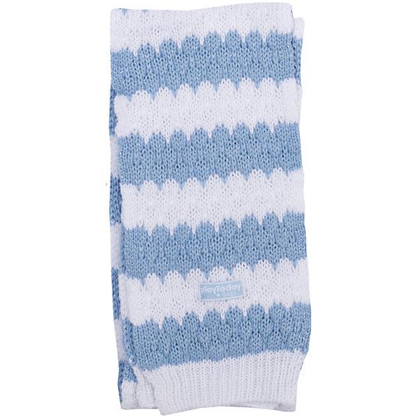 Шарф для девочки PlayTodayШарфы, платки<br>Шарф для девочки от известного бренда PlayToday.<br>Уютный полосатый свитер из вязаного трикотажа.  Сверкающая люрексная нить придает классный мерцающий эффект.<br>Состав:<br>100% акрил<br>Ширина мм: 157; Глубина мм: 13; Высота мм: 119; Вес г: 200; Цвет: голубой; Возраст от месяцев: 0; Возраст до месяцев: 24; Пол: Женский; Возраст: Детский; Размер: one size; SKU: 4900759;