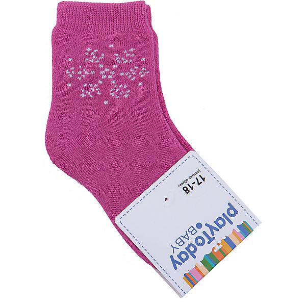 Носки для девочки PlayTodayНоски<br>Носки для девочки от известного бренда PlayToday.<br>Уютные хлопковые носочки. Украшены рисунком со снежинкой. Верх на мягкой резинке.<br>Состав:<br>75% хлопок, 22% нейлон, 3% эластан<br><br>Ширина мм: 87<br>Глубина мм: 10<br>Высота мм: 105<br>Вес г: 115<br>Цвет: розовый<br>Возраст от месяцев: 18<br>Возраст до месяцев: 24<br>Пол: Женский<br>Возраст: Детский<br>Размер: 12,11<br>SKU: 4900764
