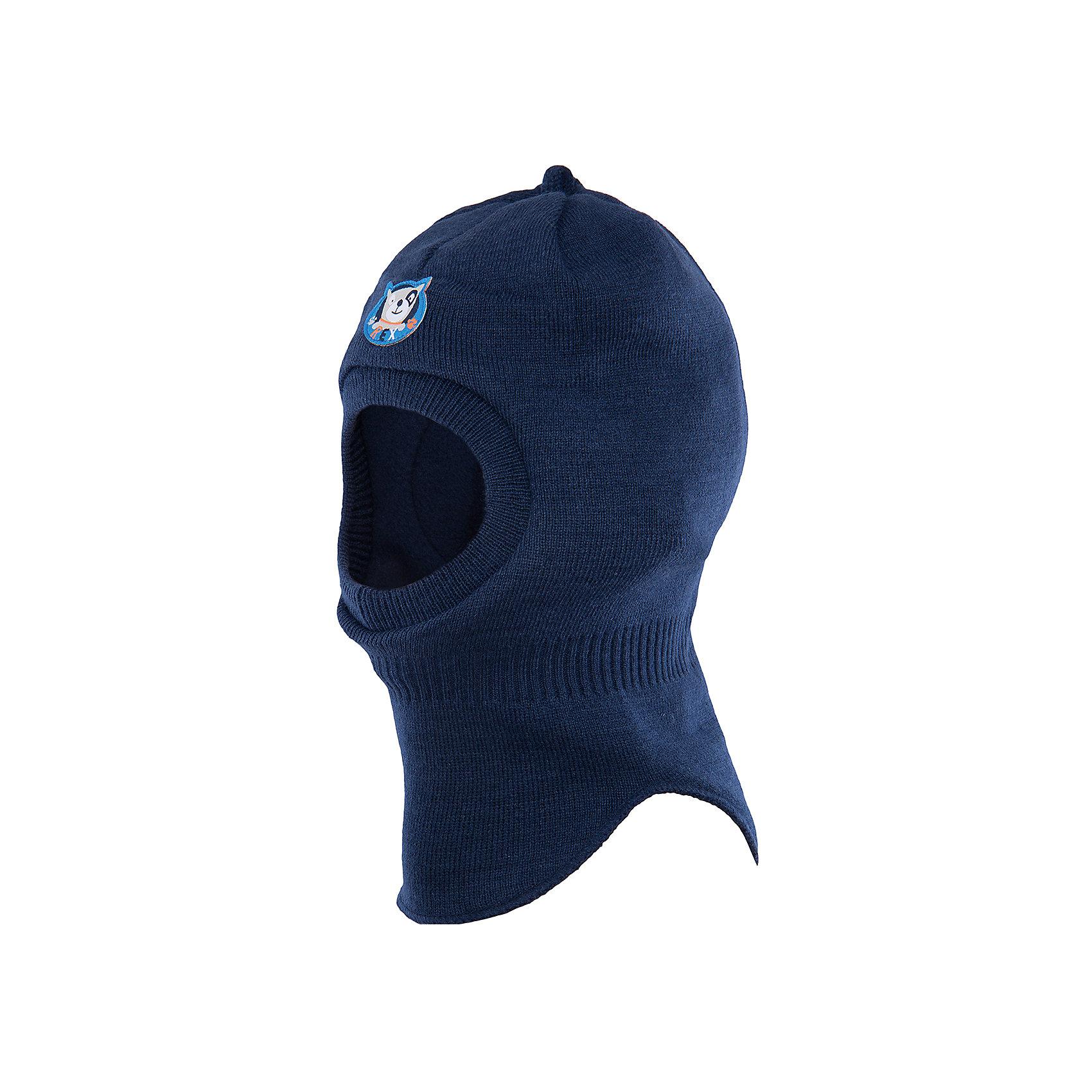 Шапка для мальчика PlayTodayЗимние<br>Шапка для мальчика от известного бренда PlayToday.<br>Теплая шапка-шлем надежно защитит от ветра. Внутри уютная флисовая подкладка.<br>Состав:<br>Верх: 100% акрил,  подкладка: 100% полиэстер, наполнитель: 100% полиэстер<br><br>Ширина мм: 157<br>Глубина мм: 13<br>Высота мм: 119<br>Вес г: 200<br>Цвет: синий<br>Возраст от месяцев: 12<br>Возраст до месяцев: 18<br>Пол: Мужской<br>Возраст: Детский<br>Размер: 46,48<br>SKU: 4900883