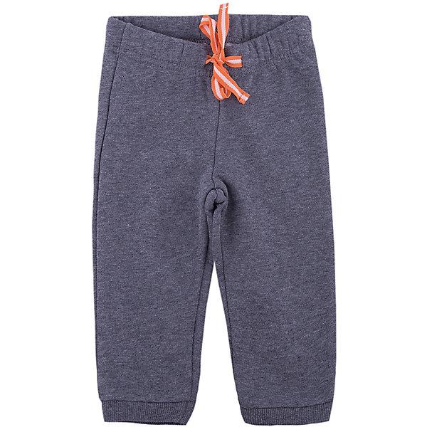 Брюки для мальчика PlayTodayПолзунки и штанишки<br>Брюки для мальчика от известного бренда PlayToday.<br>Стильные теплые брюки из футера с начесом. Низ штанишек и пояс на резинке, дополнительно регулируется цветной тесьмой.<br>Состав:<br>80% хлопок, 20% полиэстер<br>Ширина мм: 157; Глубина мм: 13; Высота мм: 119; Вес г: 200; Цвет: серый; Возраст от месяцев: 6; Возраст до месяцев: 9; Пол: Мужской; Возраст: Детский; Размер: 74,80,86,92; SKU: 4900926;