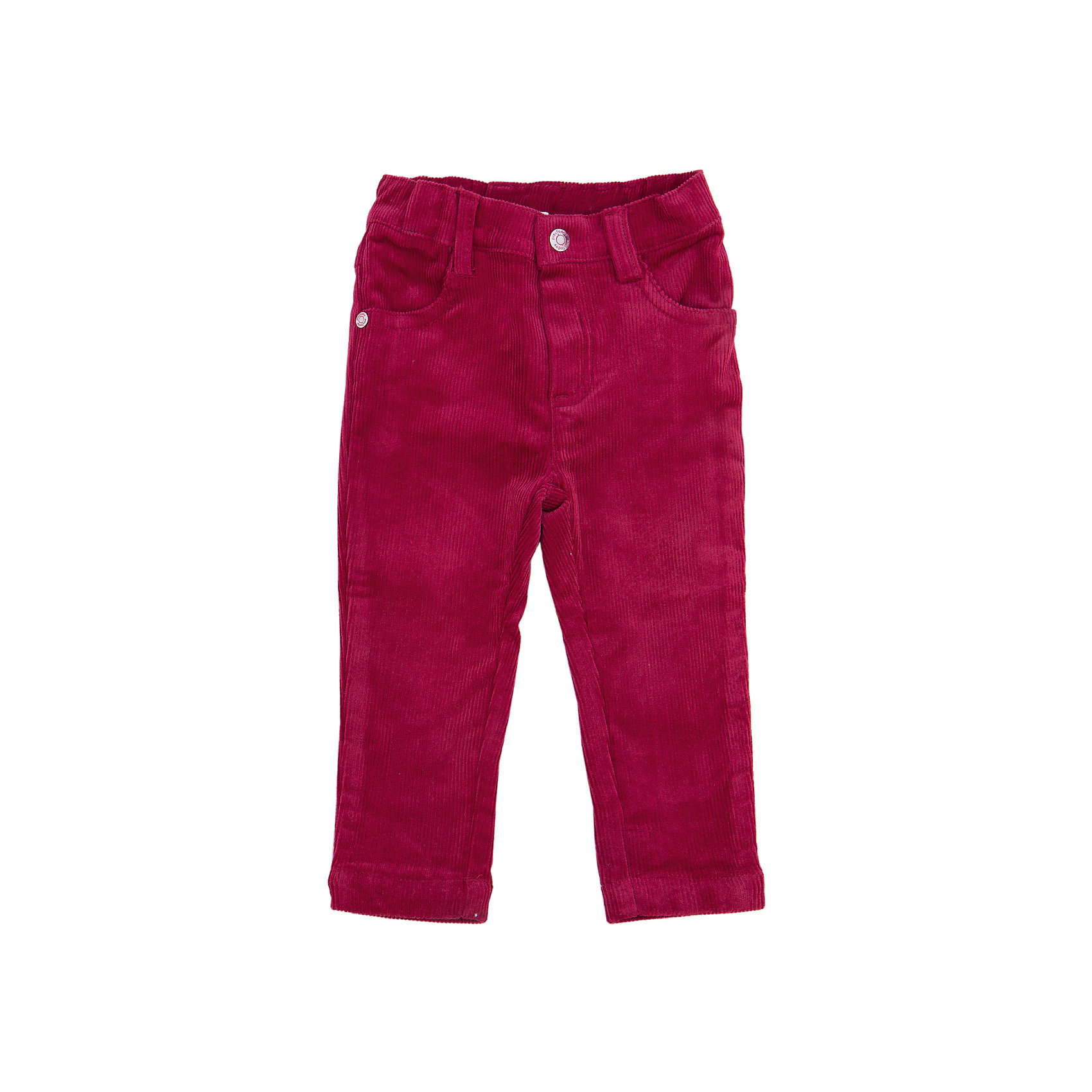 Брюки для мальчика PlayTodayДжинсы и брючки<br>Брюки для мальчика от известного бренда PlayToday.<br>Стильные вельветовые брюки зауженного кроя. Застегиваются на молнию и пуговицу. Есть 4 функциональных кармана.<br>Состав:<br>98% хлопок, 2% эластан<br><br>Ширина мм: 157<br>Глубина мм: 13<br>Высота мм: 119<br>Вес г: 200<br>Цвет: бордовый<br>Возраст от месяцев: 6<br>Возраст до месяцев: 9<br>Пол: Мужской<br>Возраст: Детский<br>Размер: 74,80,86,92<br>SKU: 4900936