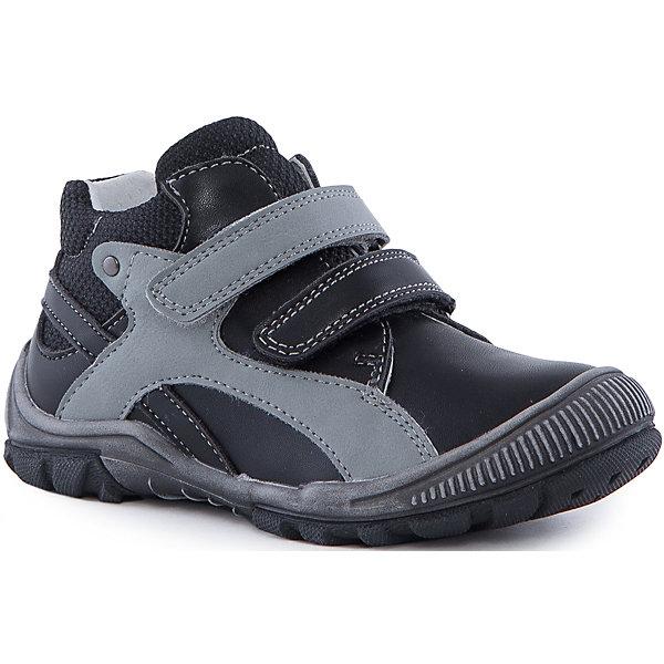 Ботинки для мальчика PlayTodayБотинки<br>Ботинки для мальчика от известного бренда PlayToday.<br>Стильные полуботинки для мальчика. Внутри мягкая полуортопедическая стелька и подкладка с содержанием 80% шерсти. Высокая гибкая подошва с рифлением не скользит. Наполненная носочная часть способствует правильному формированию стопы. Удобно застегивается на липучки.<br>Состав:<br>100% Искусственная кожа<br><br>Ширина мм: 262<br>Глубина мм: 176<br>Высота мм: 97<br>Вес г: 427<br>Цвет: белый<br>Возраст от месяцев: 15<br>Возраст до месяцев: 18<br>Пол: Мужской<br>Возраст: Детский<br>Размер: 22,21,20,25,24,23<br>SKU: 4901191